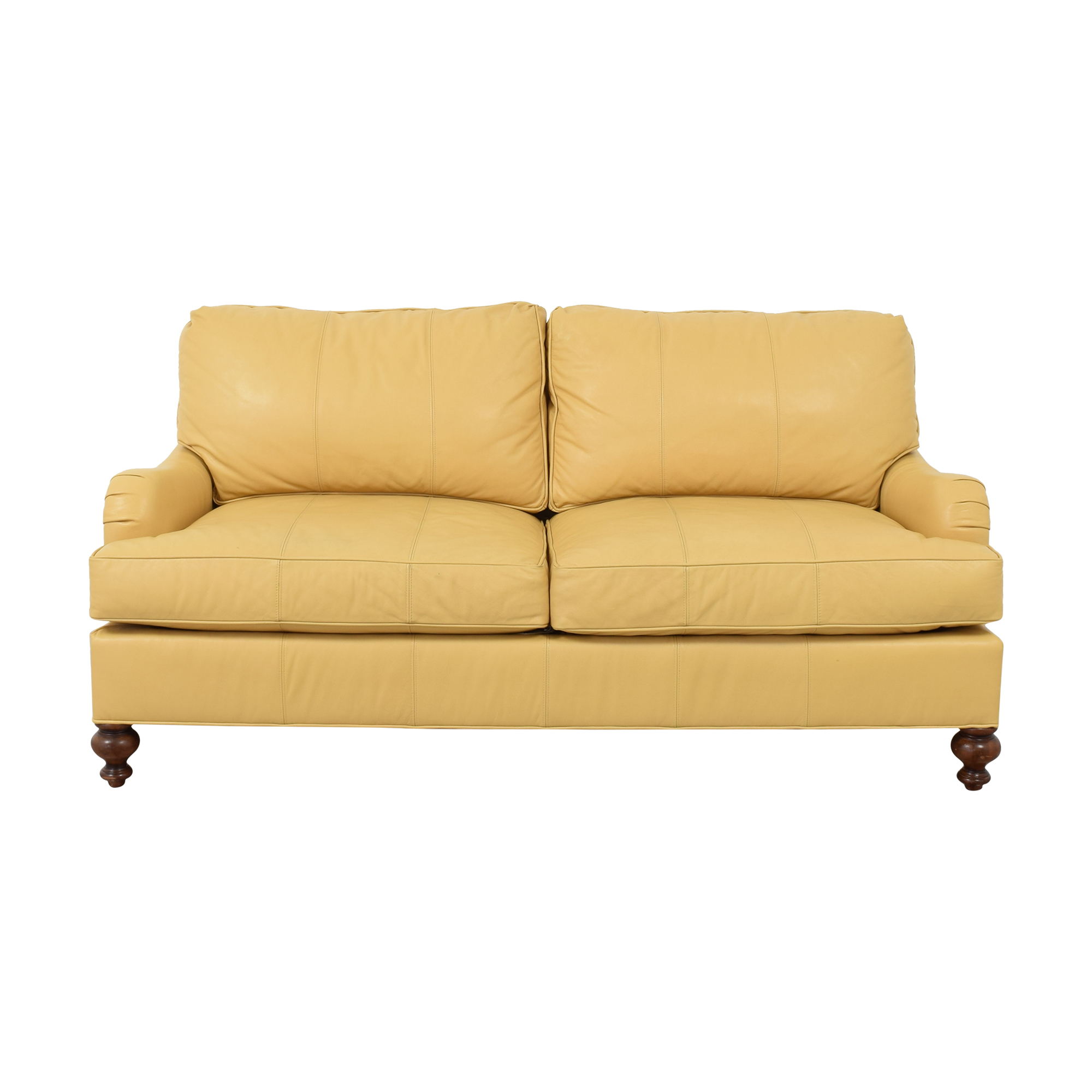 buy Wesley Hall Wesley Hall English Roll Arm Two Cushion Sofa online