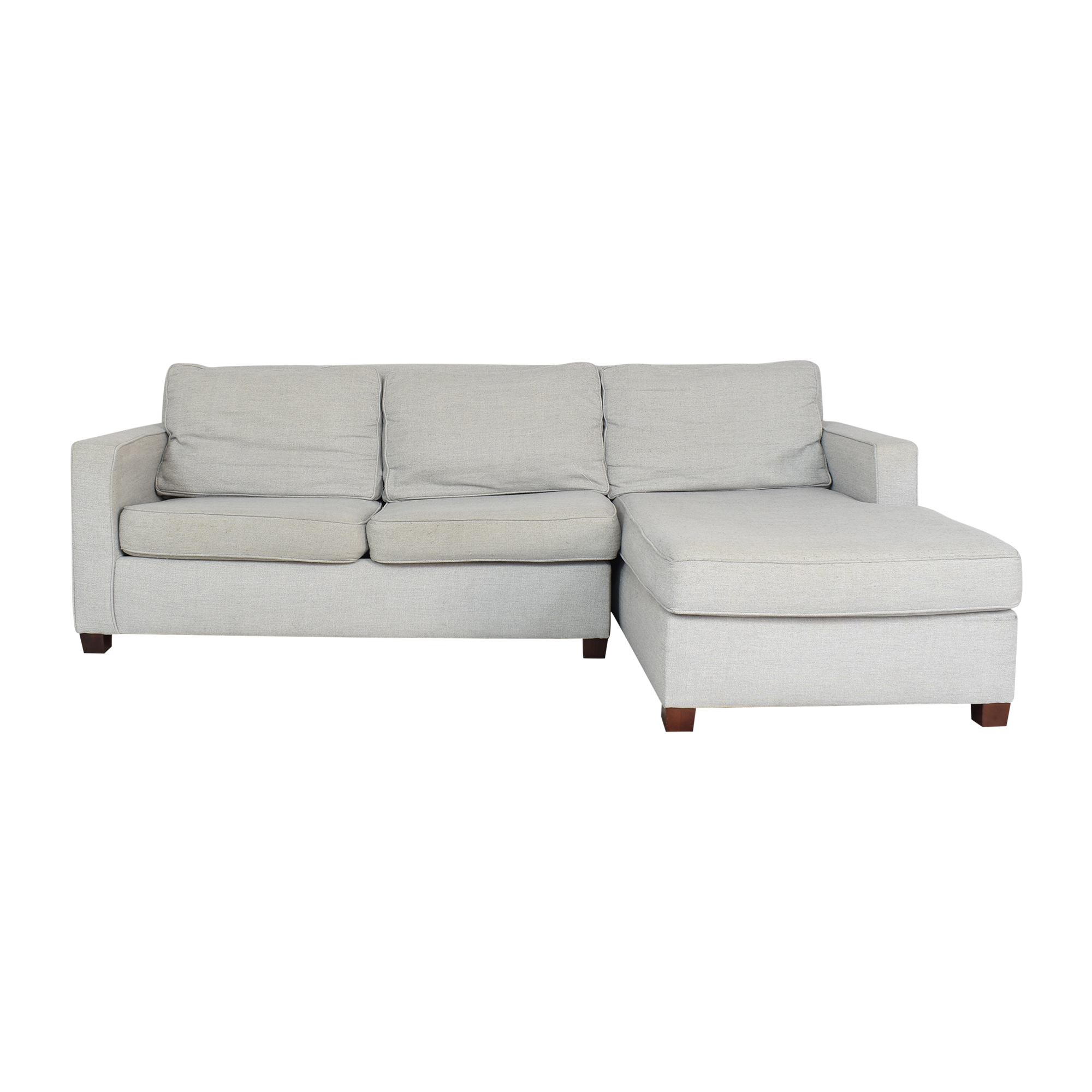 West Elm West Elm Henry Two Piece Sectional Sofa second hand
