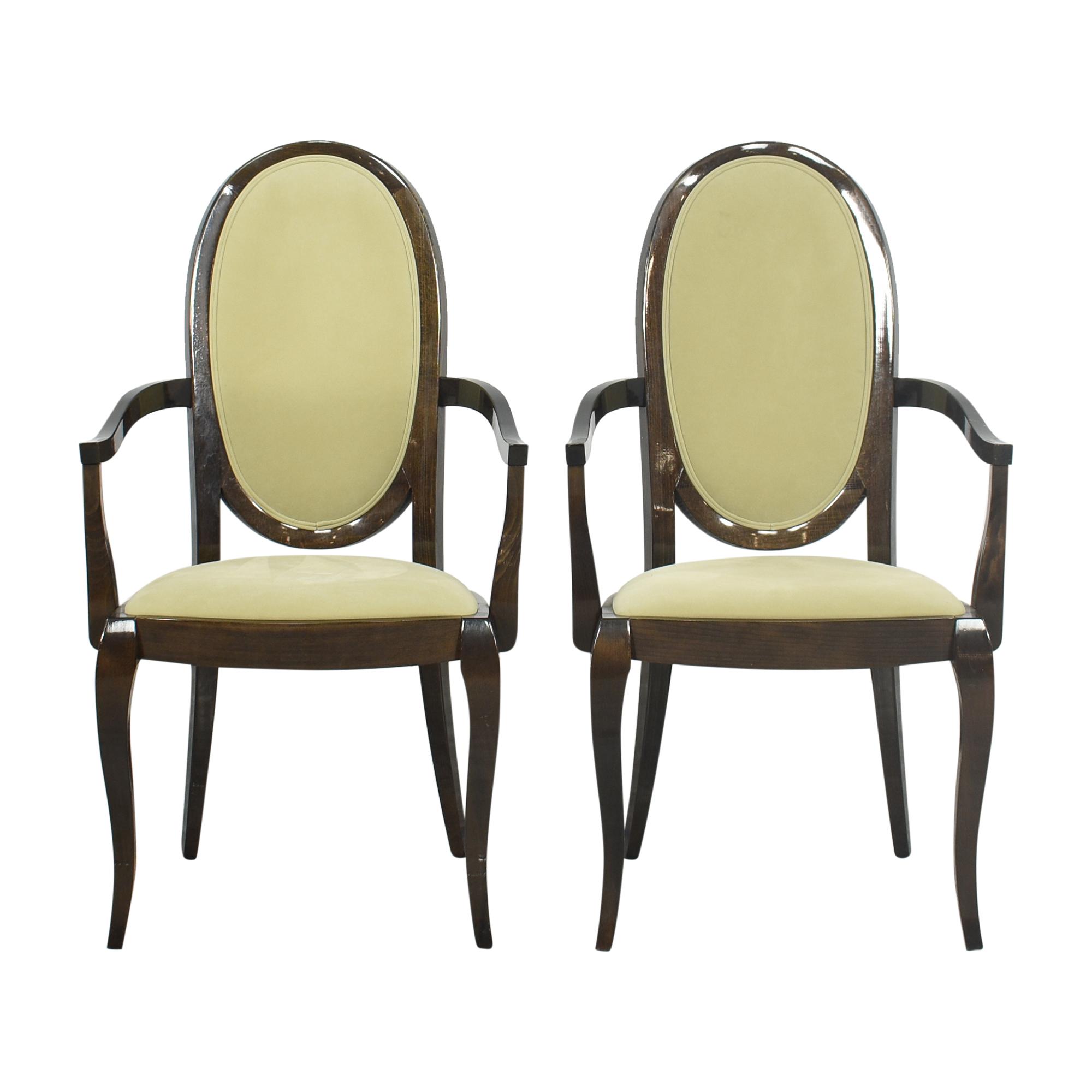 buy Pietro Costantini for Ello Furniture Dining Arm Chairs Ello Furniture