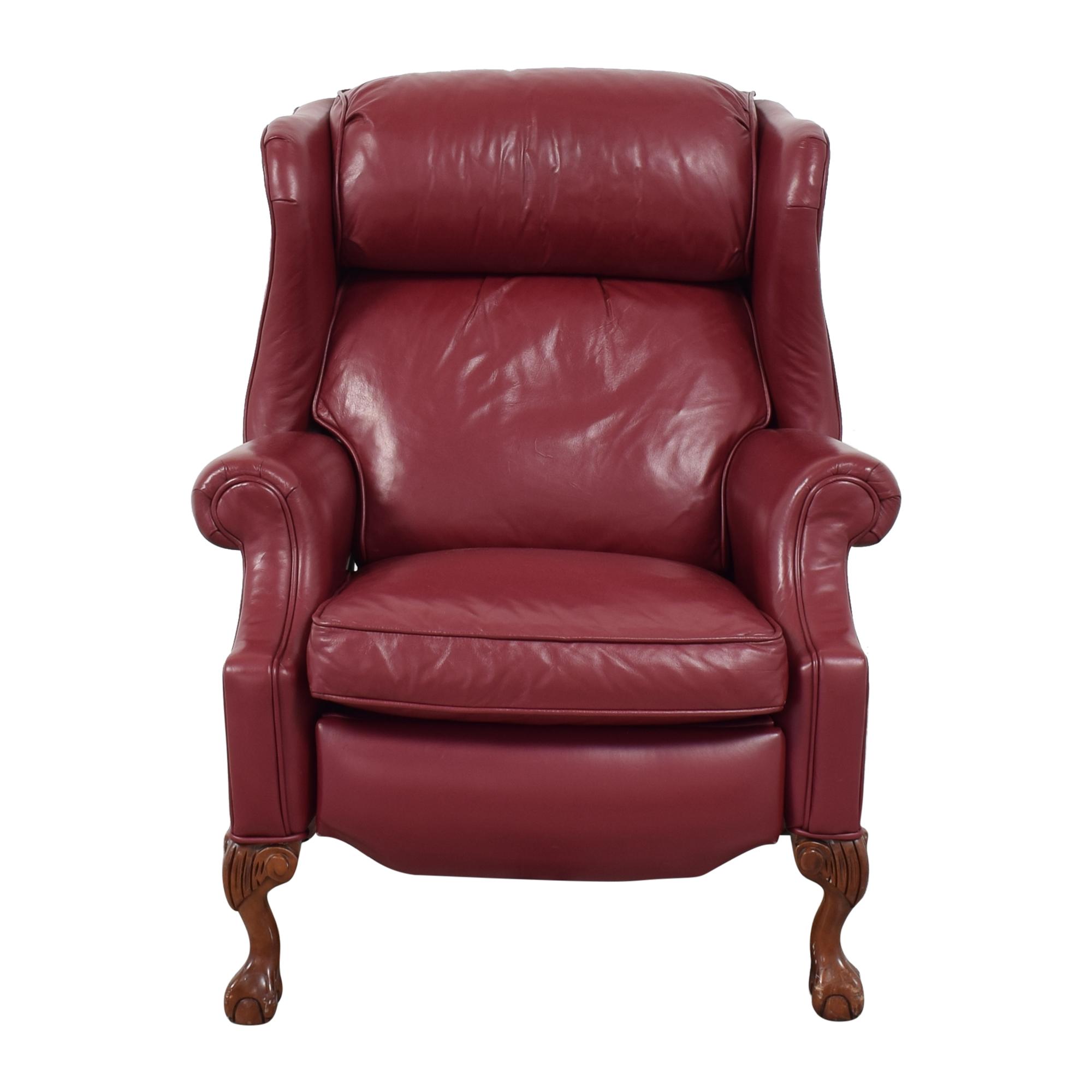 Ethan Allen Ethan Allen Roll Arm Recliner Chair Recliners