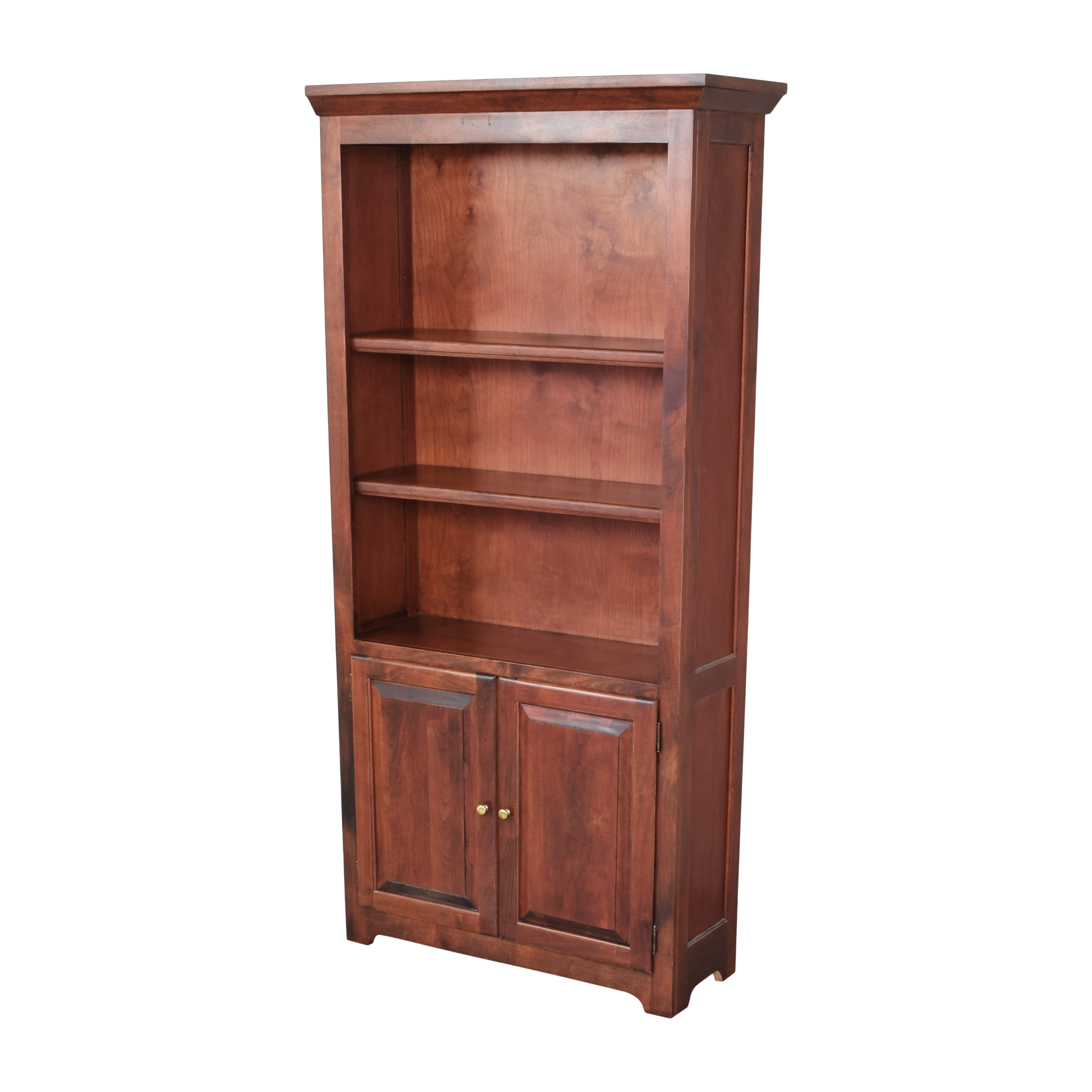 shop Mission Bookshelf with Cabinet  Bookcases & Shelving