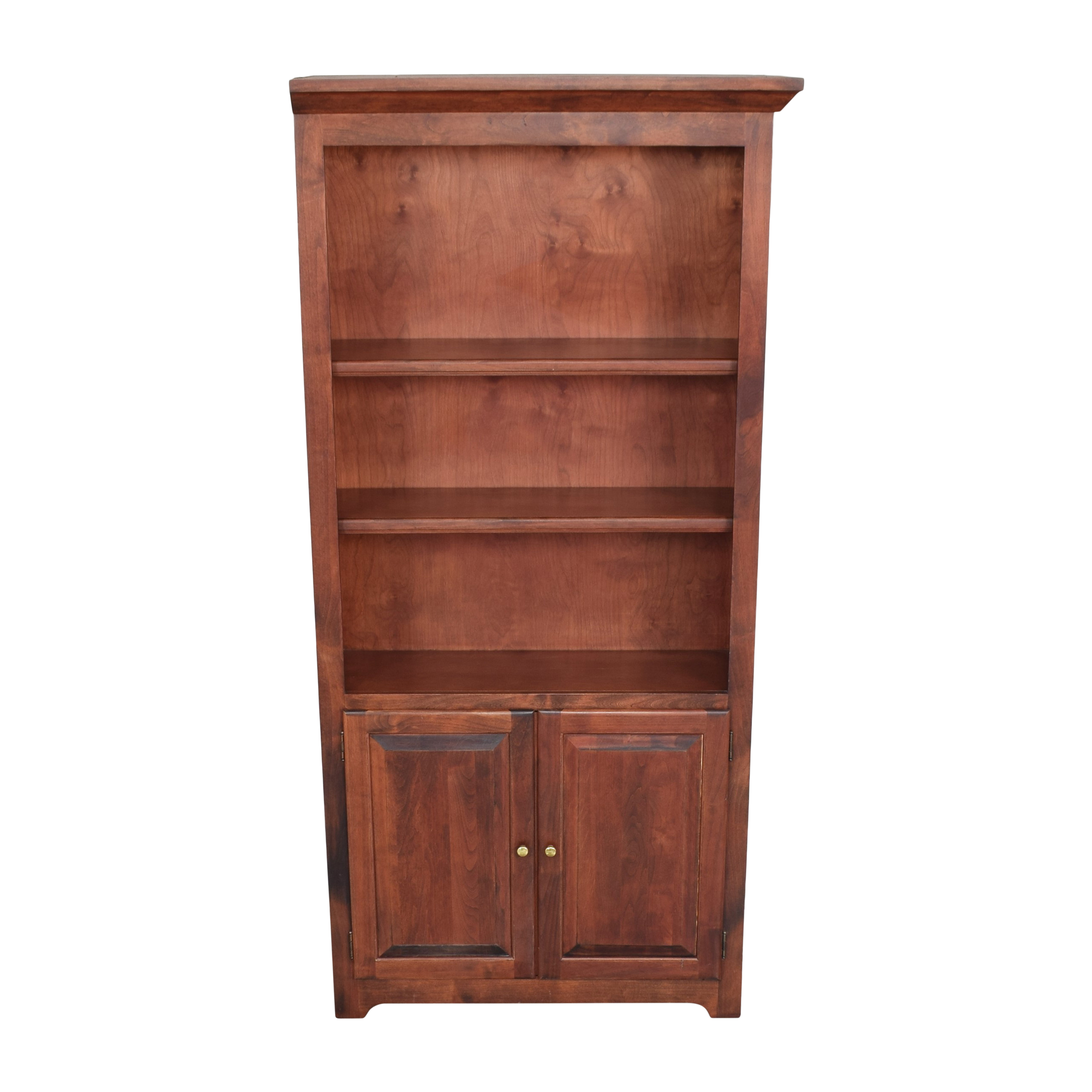 Mission Bookshelf with Cabinet ma