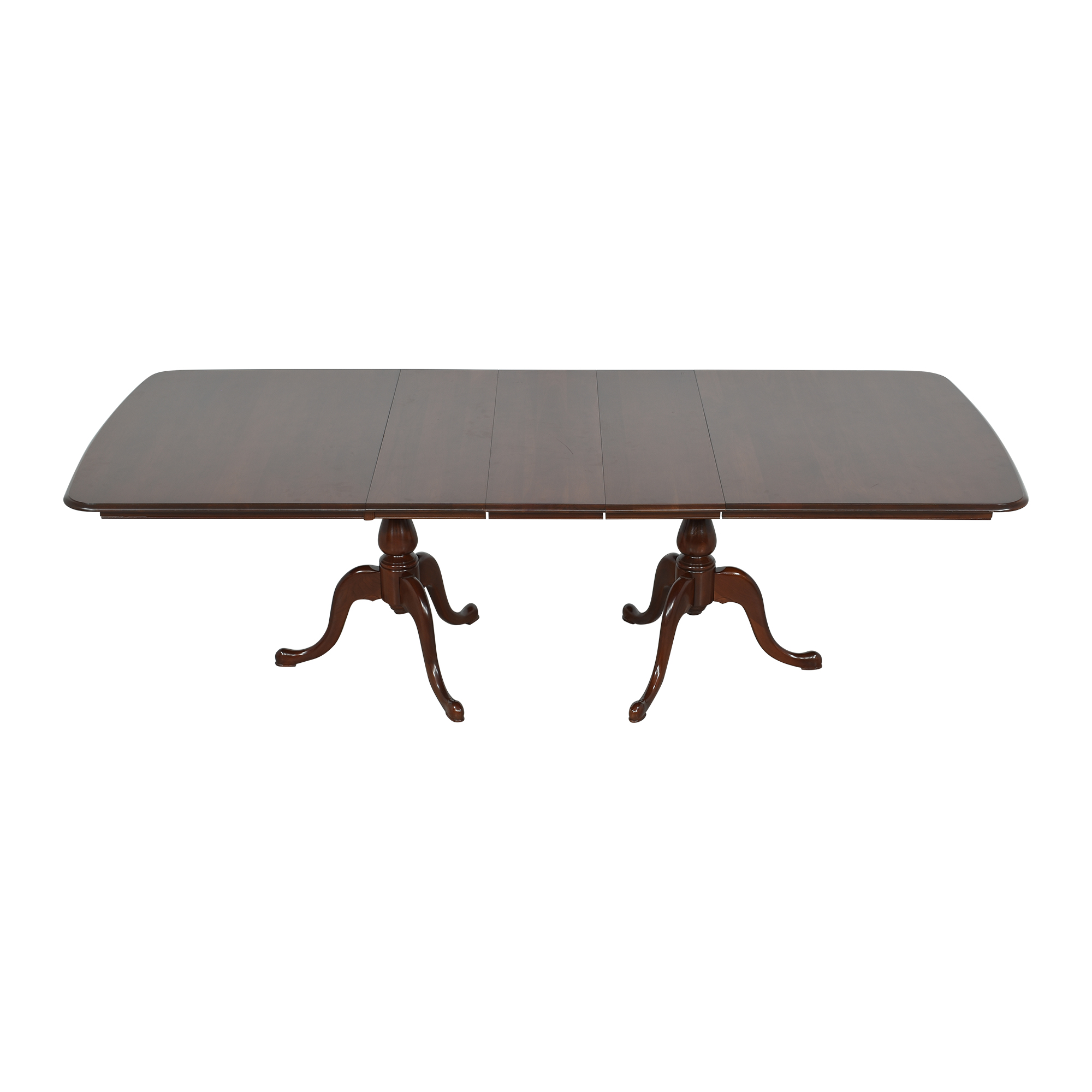 The Colonial Furniture Company The Colonial Furniture Company Extendable Dining Table second hand
