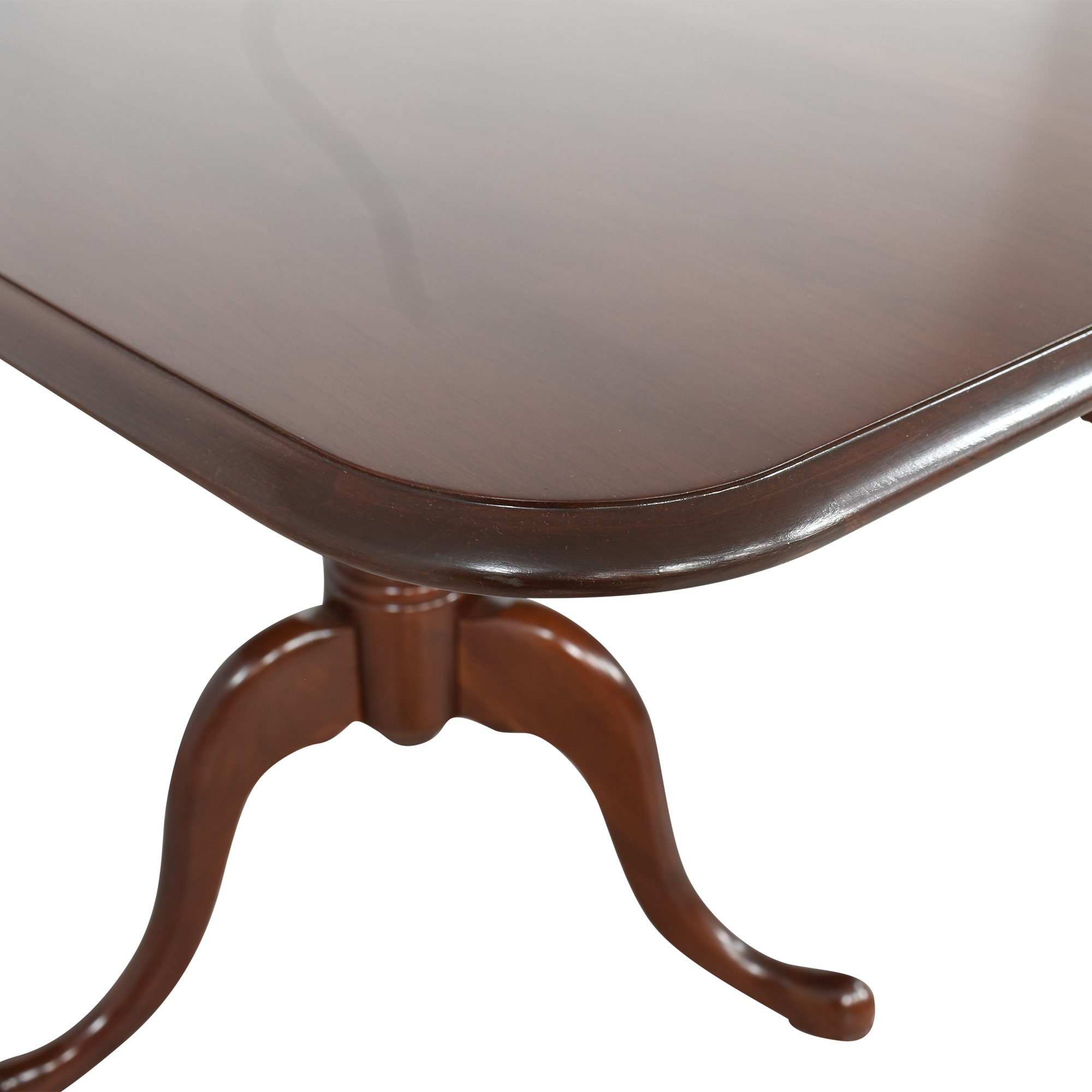 The Colonial Furniture Company The Colonial Furniture Company Extendable Dining Table dimensions