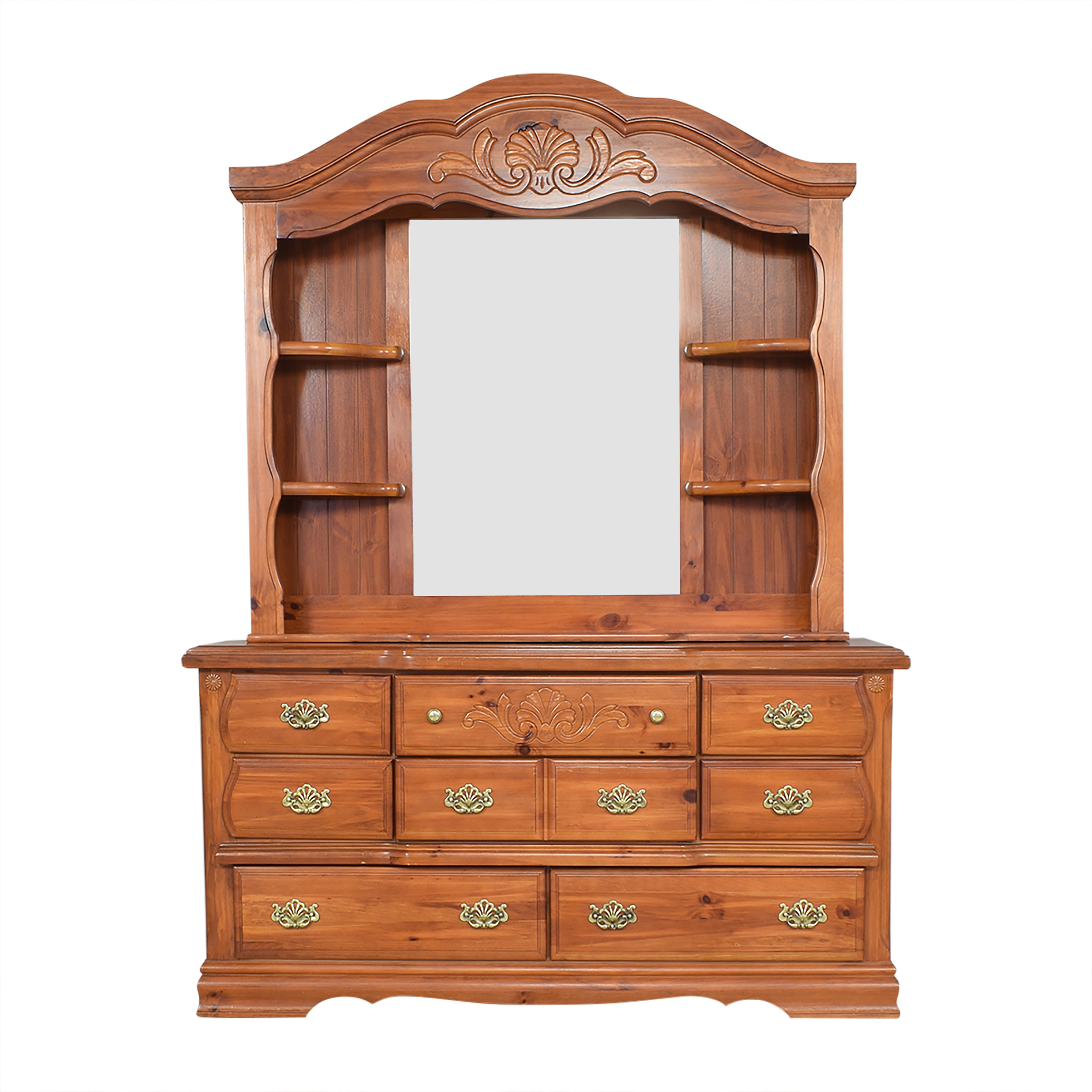 buy Large Bedroom Hutch with Mirror