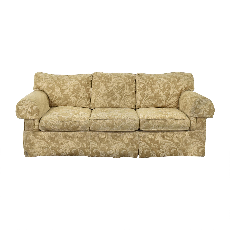 Century Furniture Century Furniture Skirted Three Cushion Sofa second hand