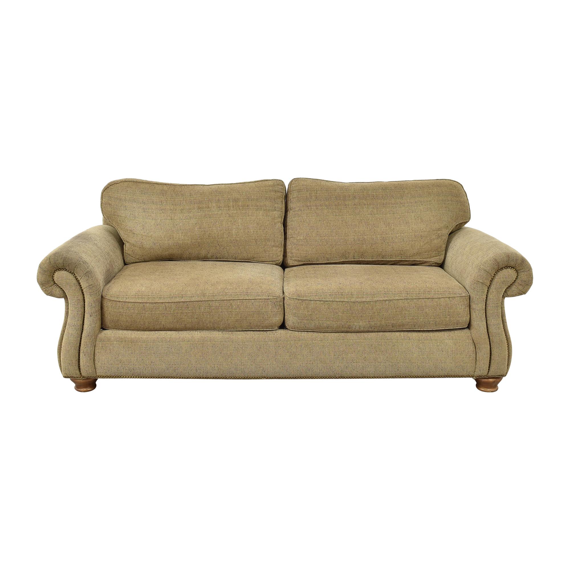Bernhardt Bernhardt Two Cushion Roll Arm Sofa second hand