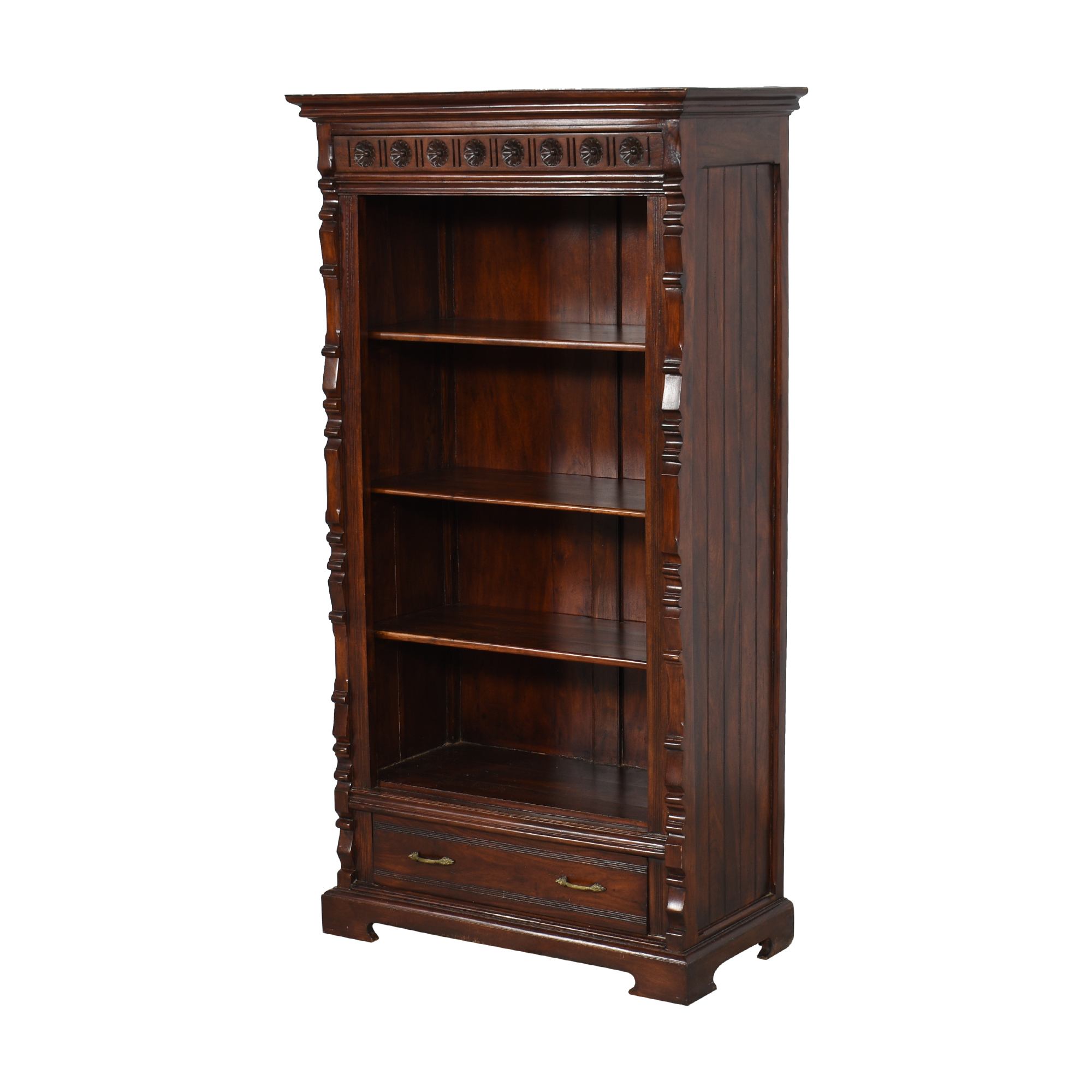 shop Vintage-Style Bookcase with Drawer  Bookcases & Shelving
