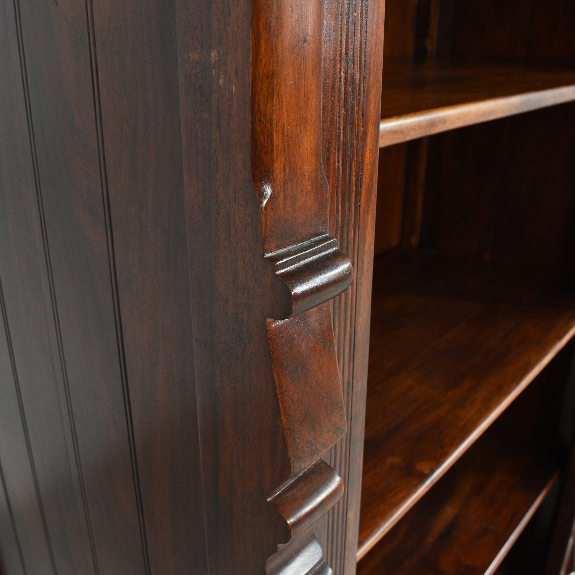 Vintage-Style Bookcase with Drawer discount