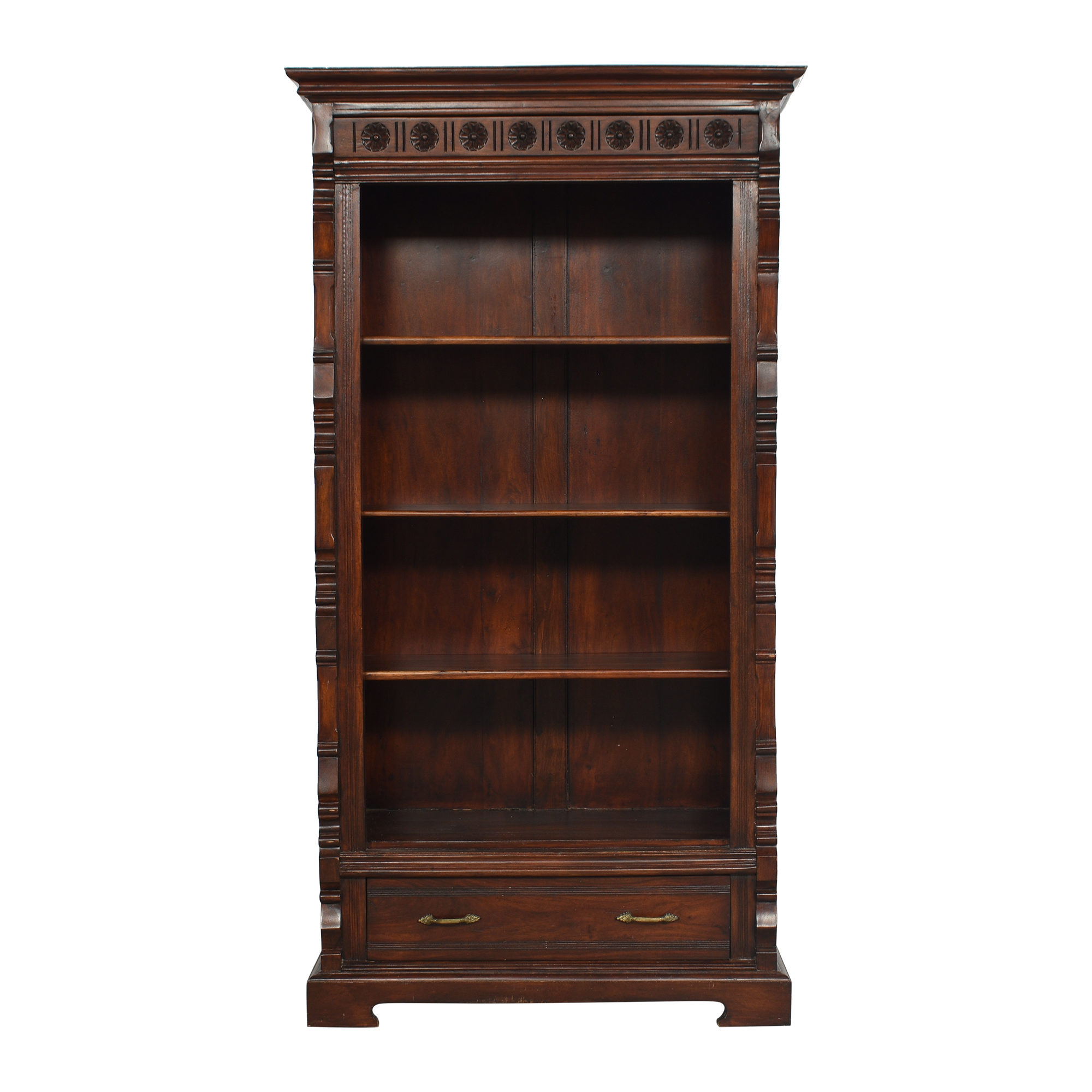 Vintage-Style Bookcase with Drawer ma