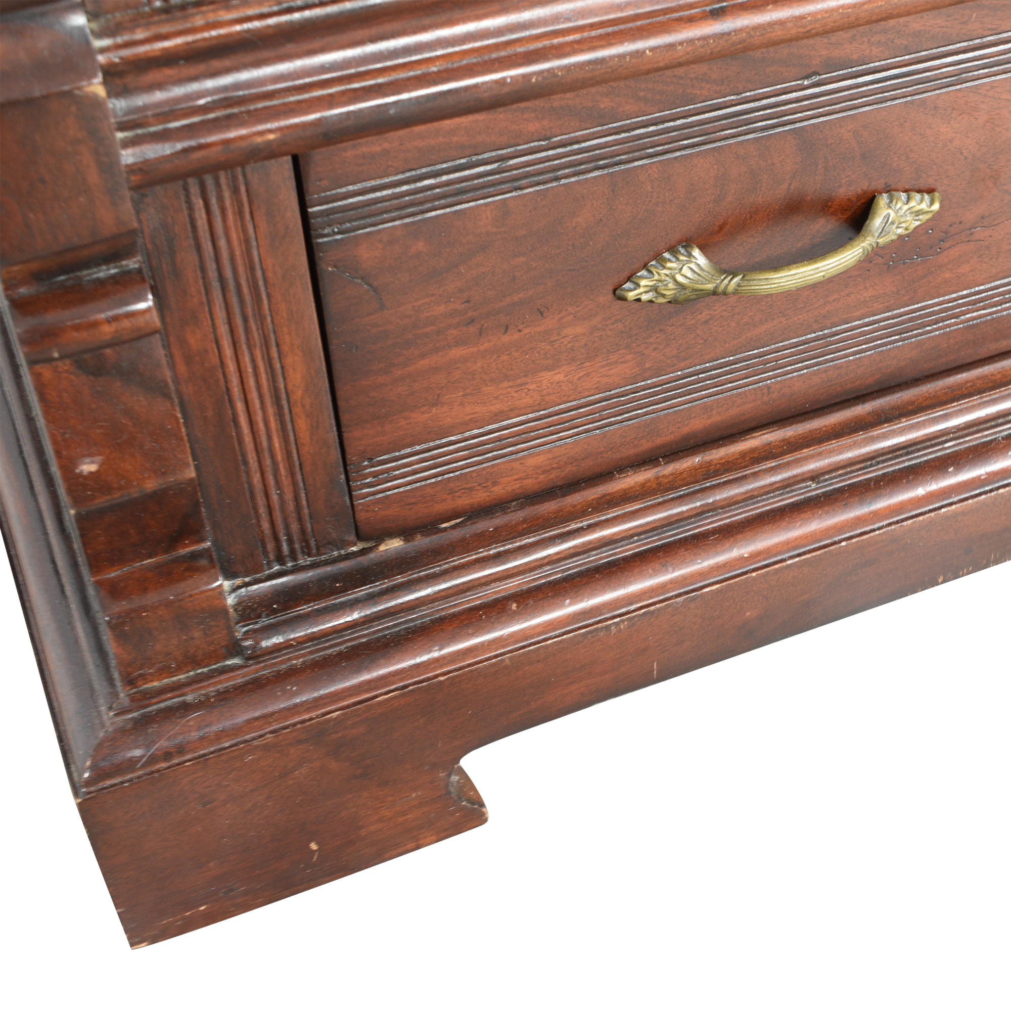 buy Vintage-Style Bookcase with Drawer  Storage