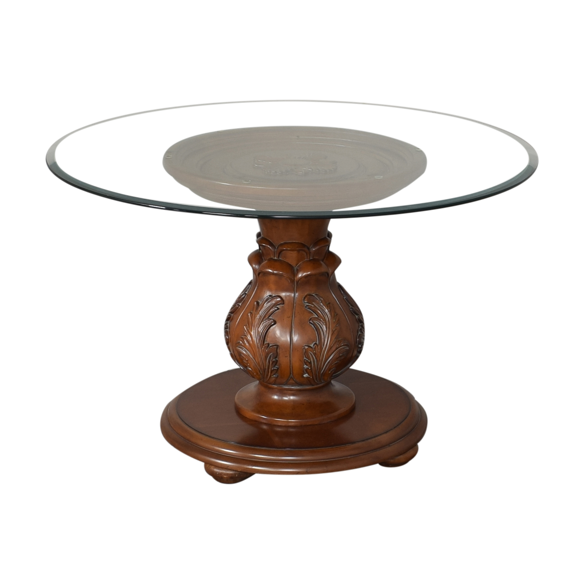 Broyhill Furniture Broyhill Furniture Sunset Pointe Pedestal Table Brown