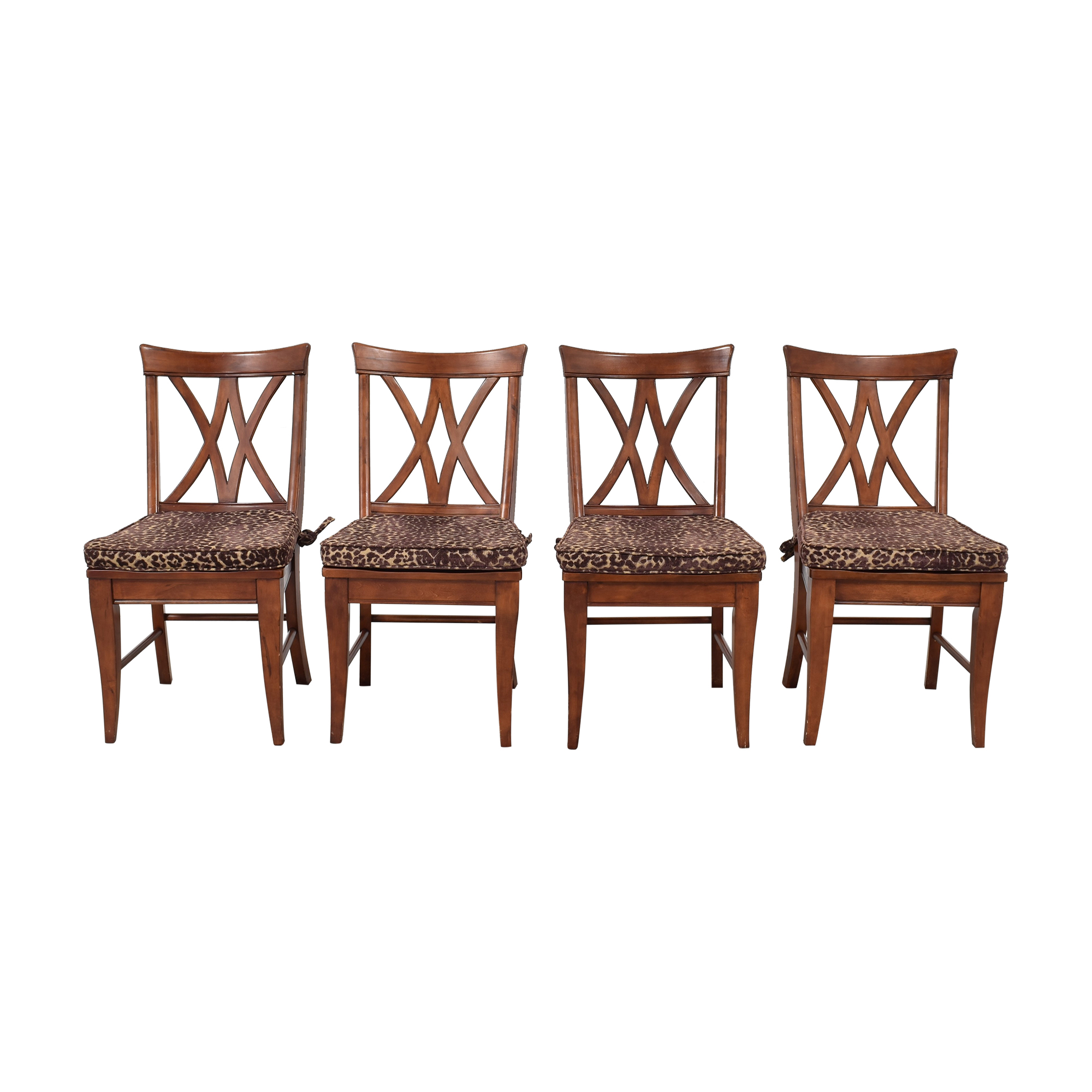 Broyhill Furniture Broyhill Furniture Choices Casual V Back Dining Side Chairs  price