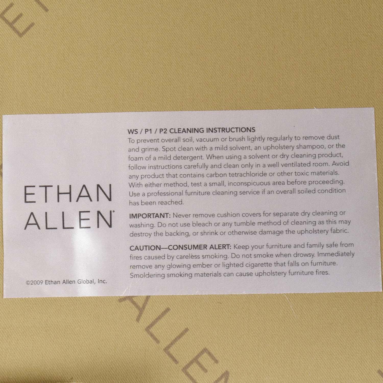 buy Ethan Allen Ethan Allen Skylar Stripped Wing Chair online