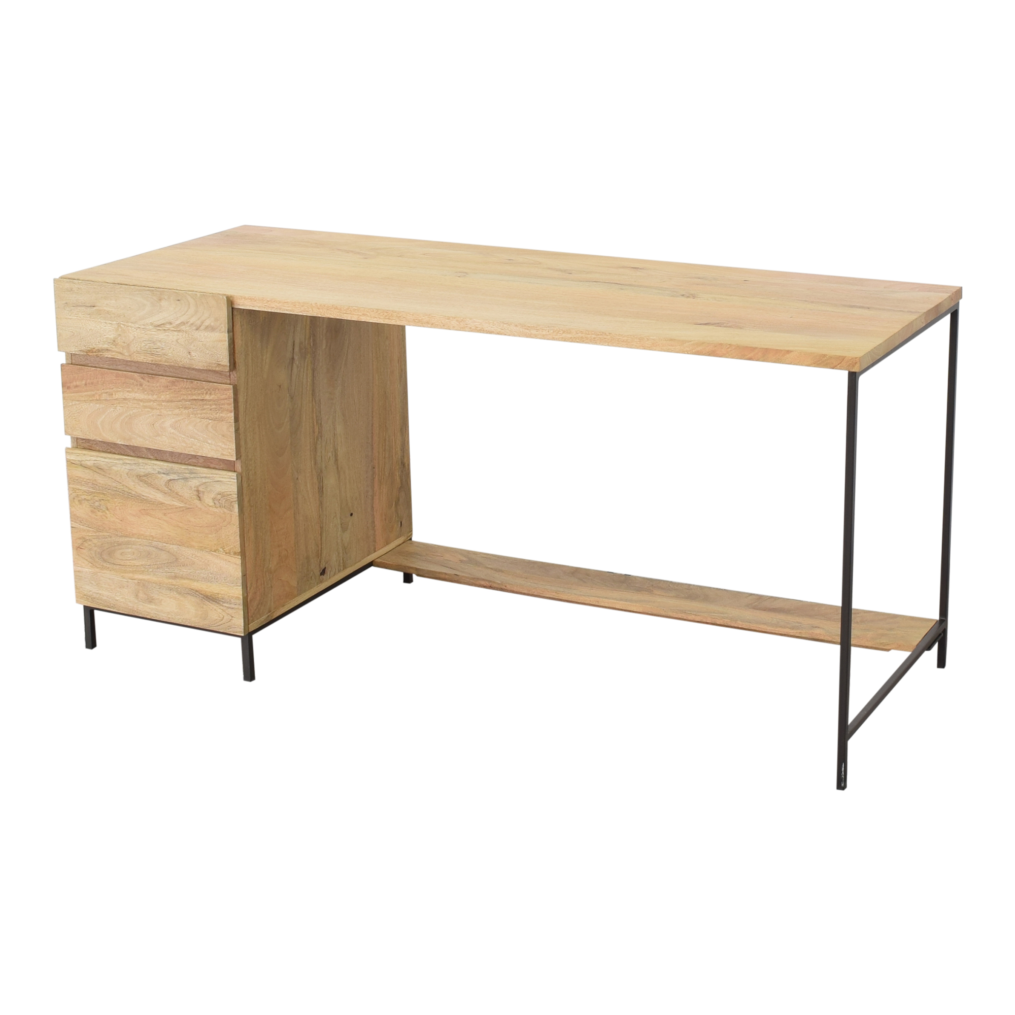 West Elm West Elm Industrial Modular Desk discount