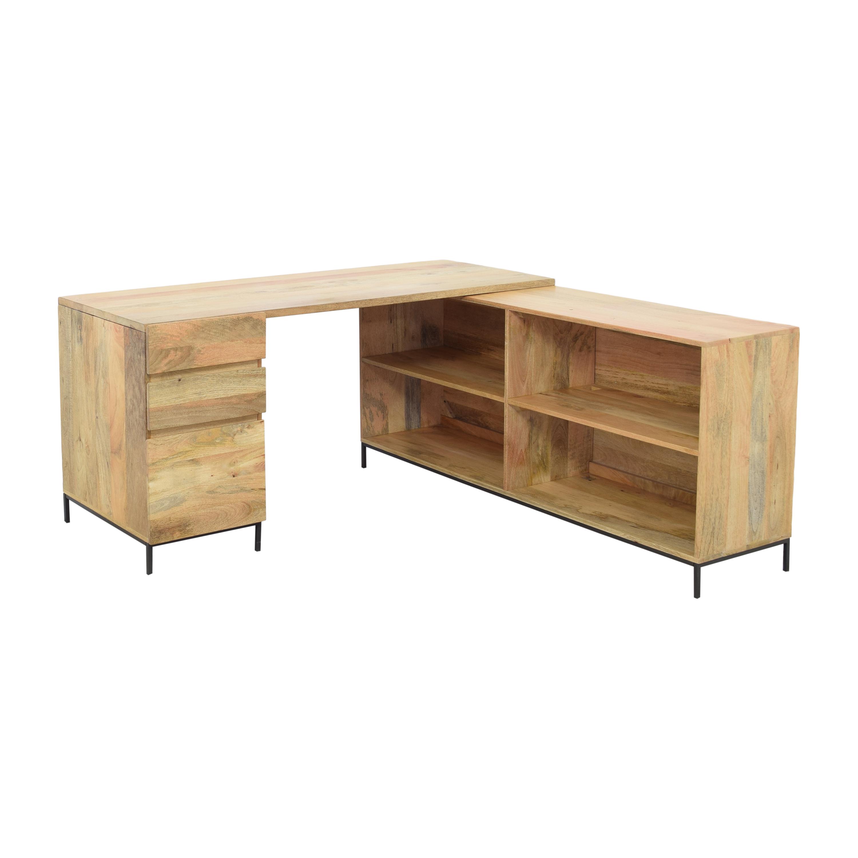 shop West Elm West Elm Industrial Modular Desk online