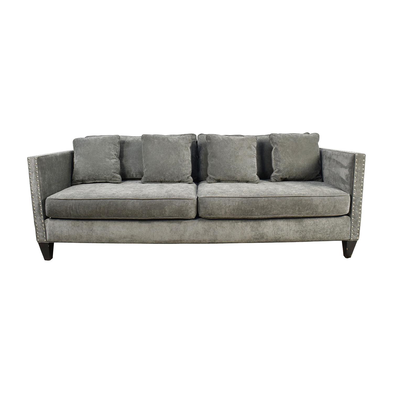 Rowe Rowe Mitchell Three Seater Grey Sofa on sale