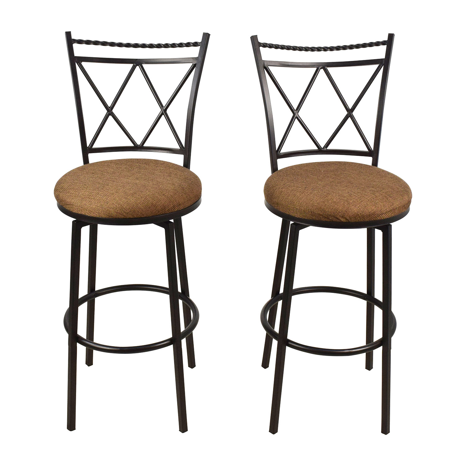 Upholstered Swivel Bar Stools nj