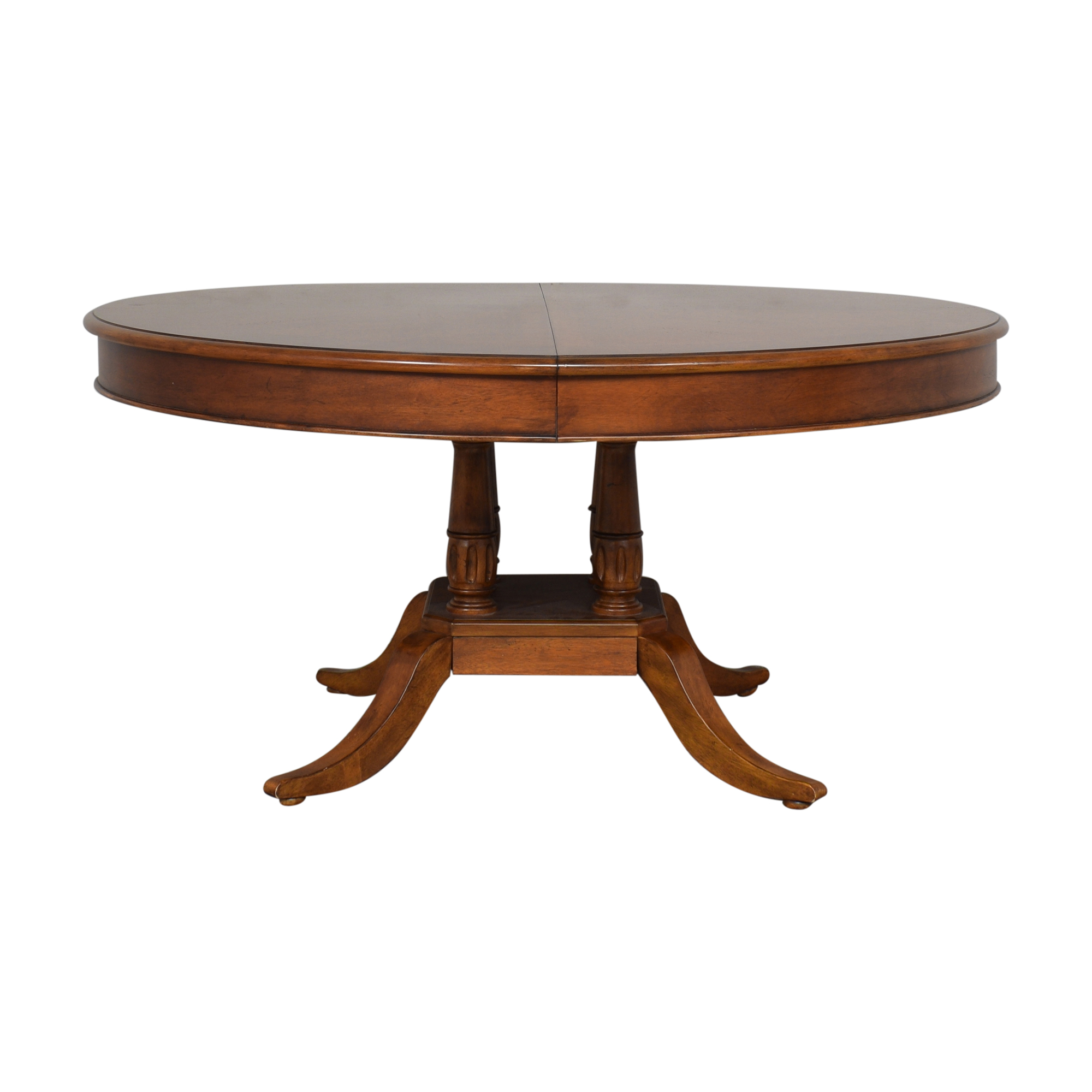 Bassett Mirror Company Bassett Mirror Company Extendable Dining Table dimensions