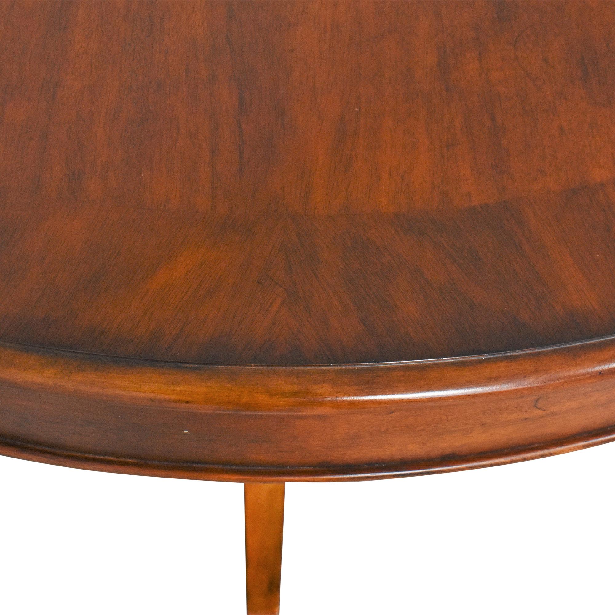 shop Bassett Mirror Company Extendable Dining Table Bassett Mirror Company