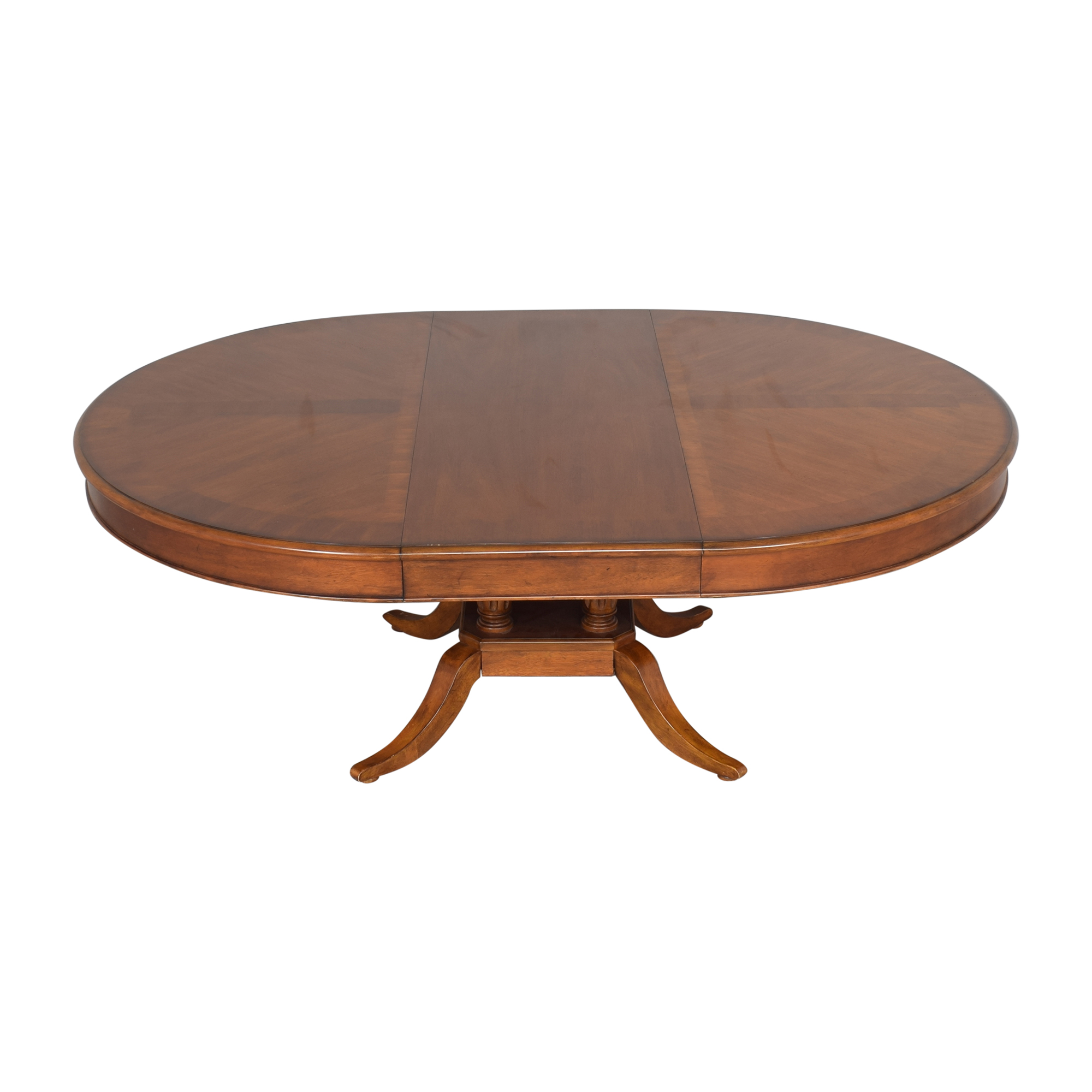 Bassett Mirror Company Bassett Mirror Company Extendable Dining Table second hand