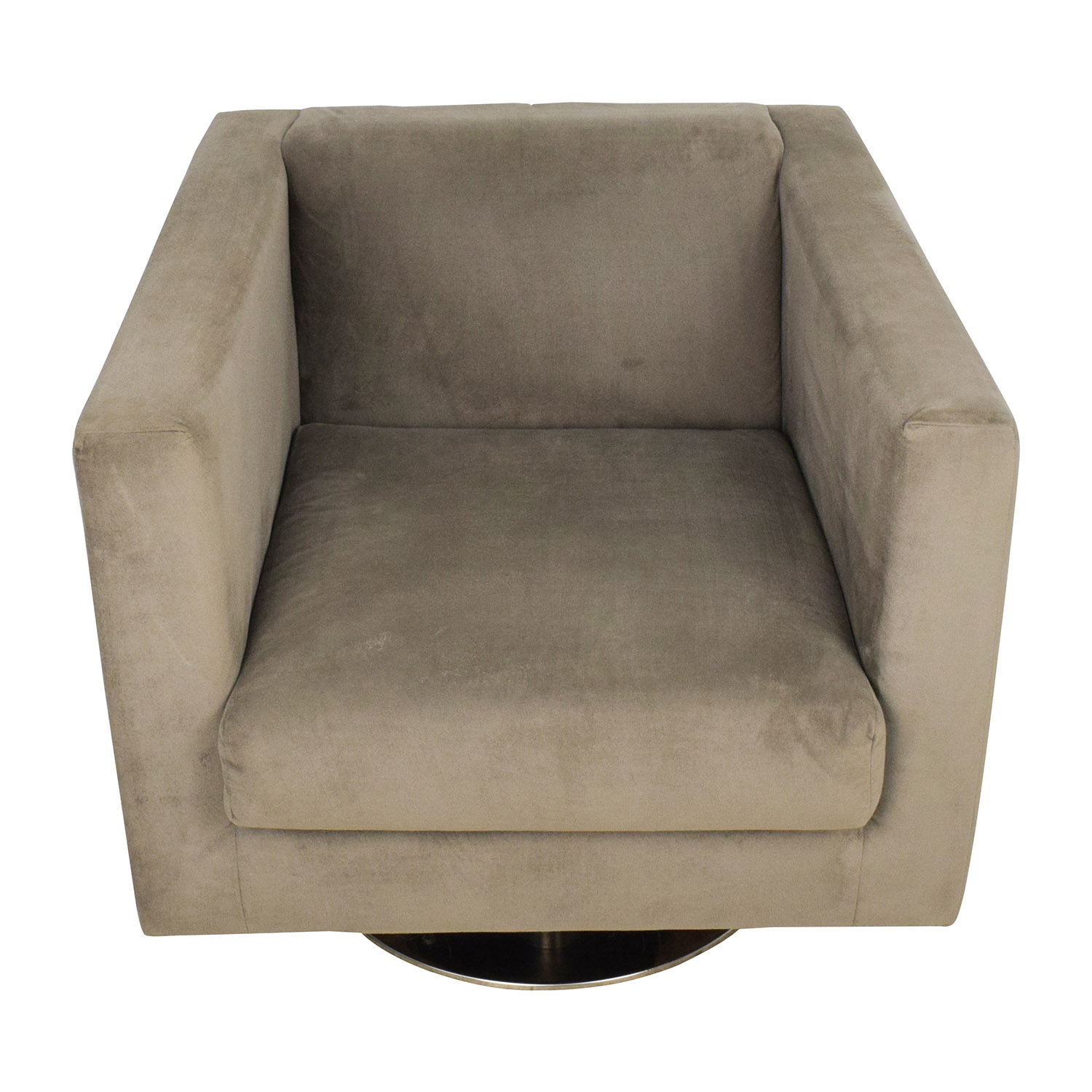 Rowe Rowe Grey Swivel Chair for sale