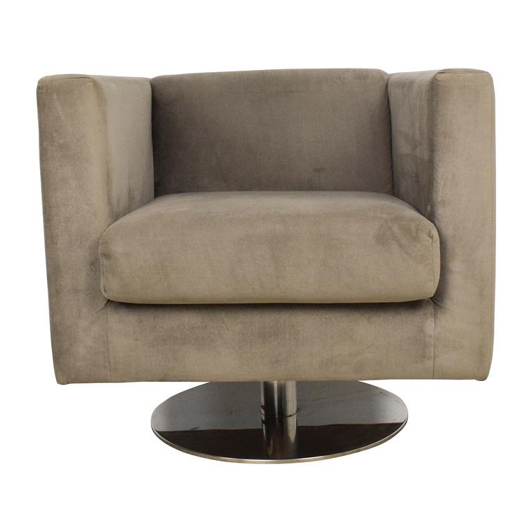 Rowe Grey Swivel Chair sale