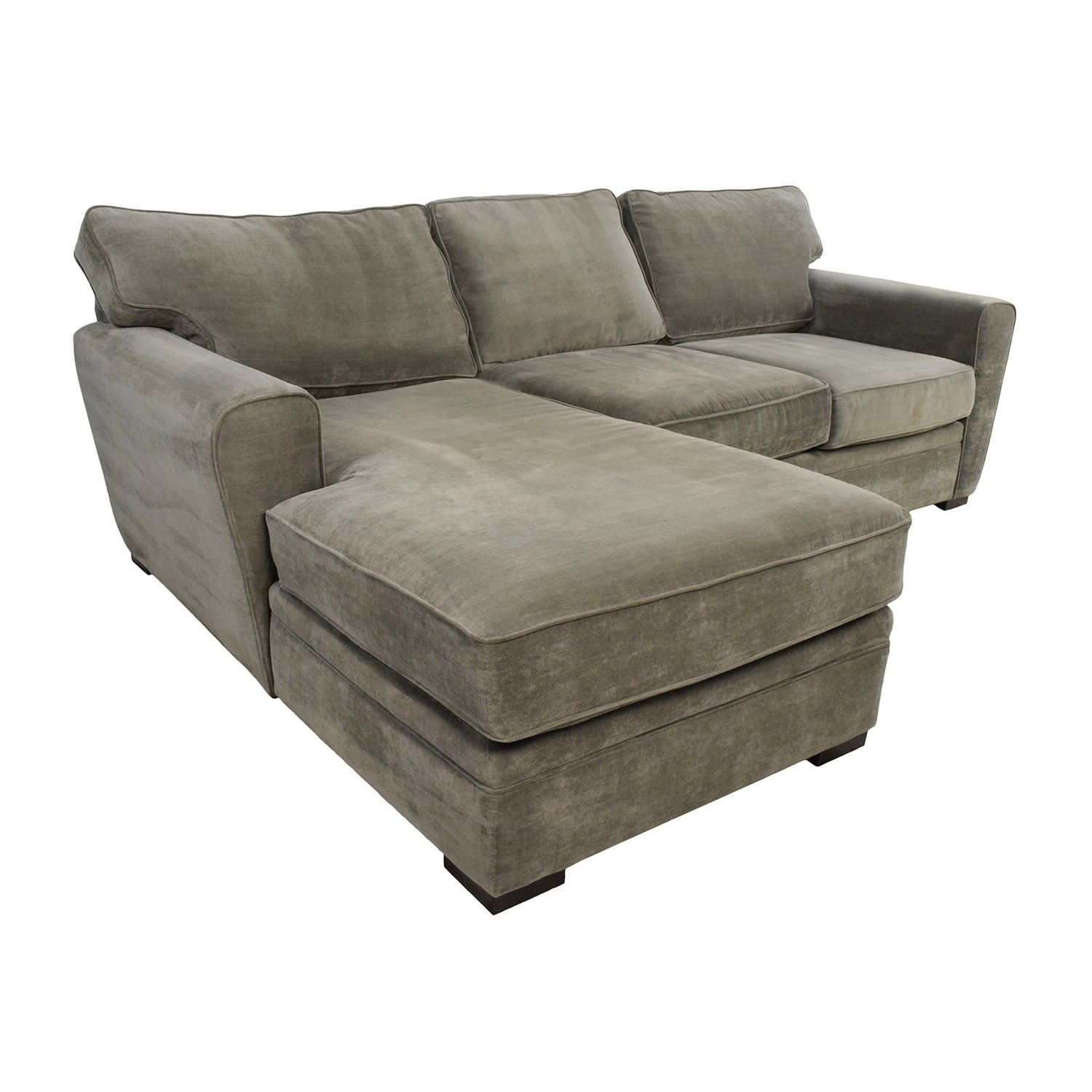 58 Off Raymour And Flanigan Raymour Flanigan Grey Sectional Sofas