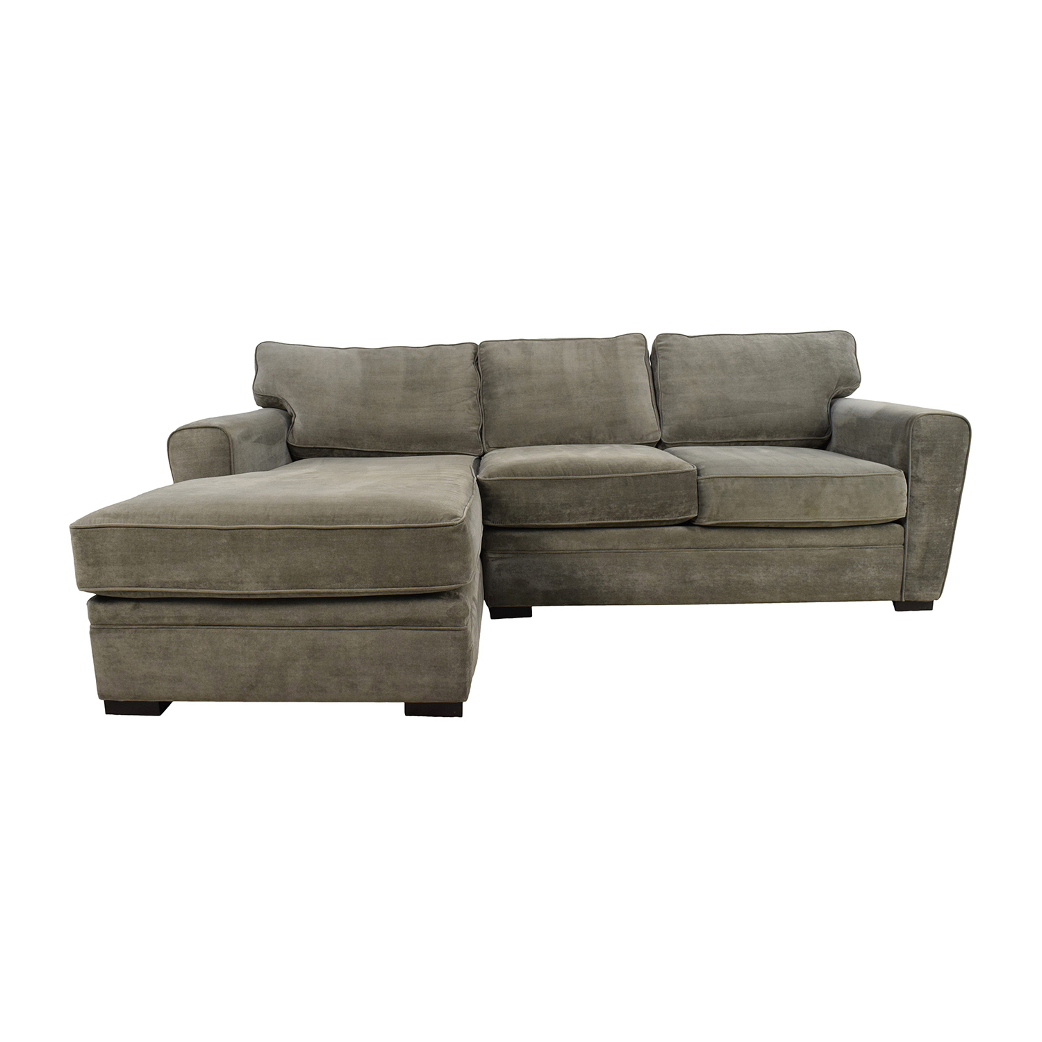 Raymour and Flanigan Raymour & Flanigan Grey Sectional second hand