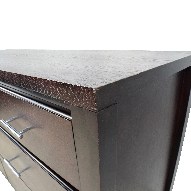 Wooden 7-Drawer Dresser on sale
