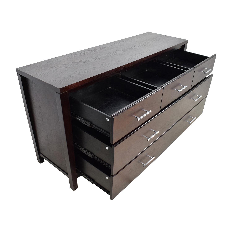 shop Wooden 7-Drawer Dresser Dressers