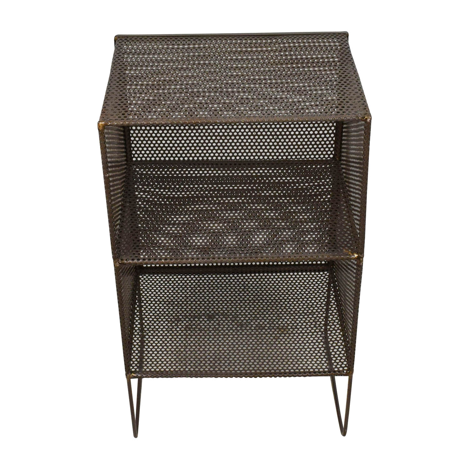 53 off small metal end table tables. Black Bedroom Furniture Sets. Home Design Ideas