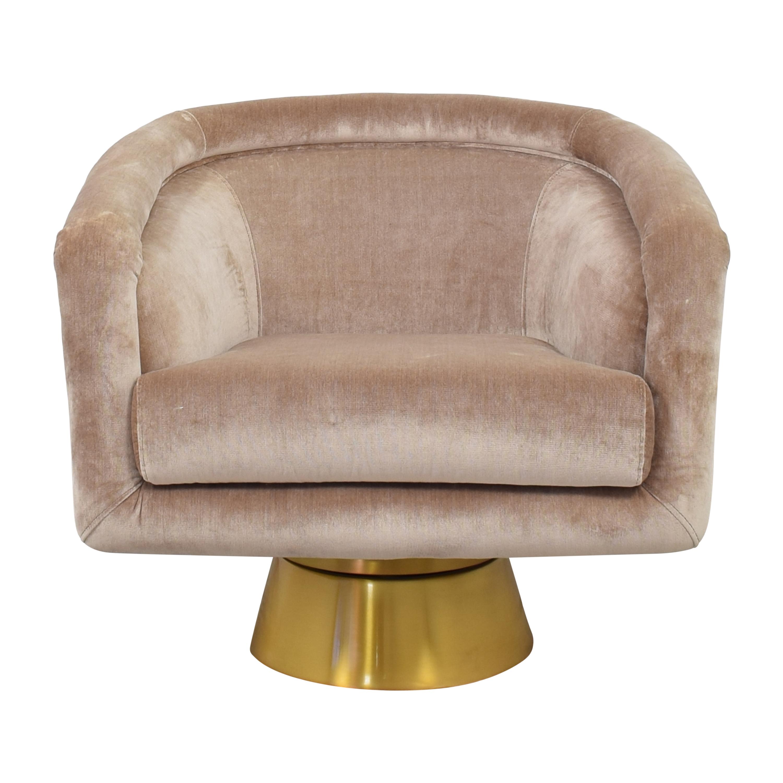 Jonathan Adler Jonathan Adler Bacharach Swivel Chair second hand