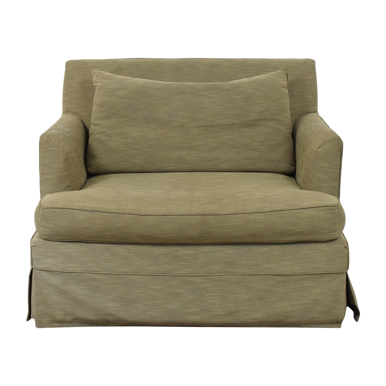 Ethan Allen Ethan Allen Skirted Chair and a Half second hand