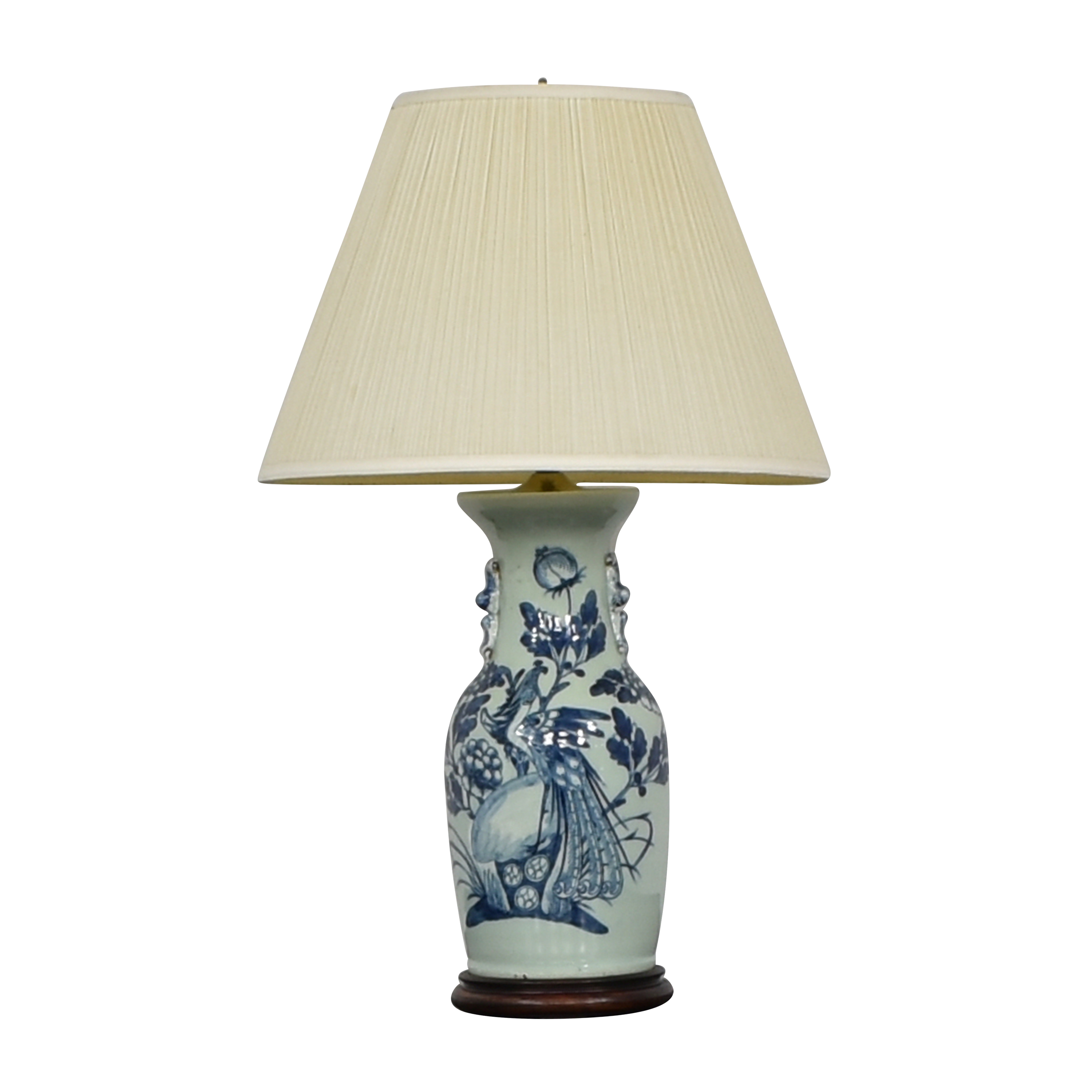 Chinoiserie Vase Lamp second hand