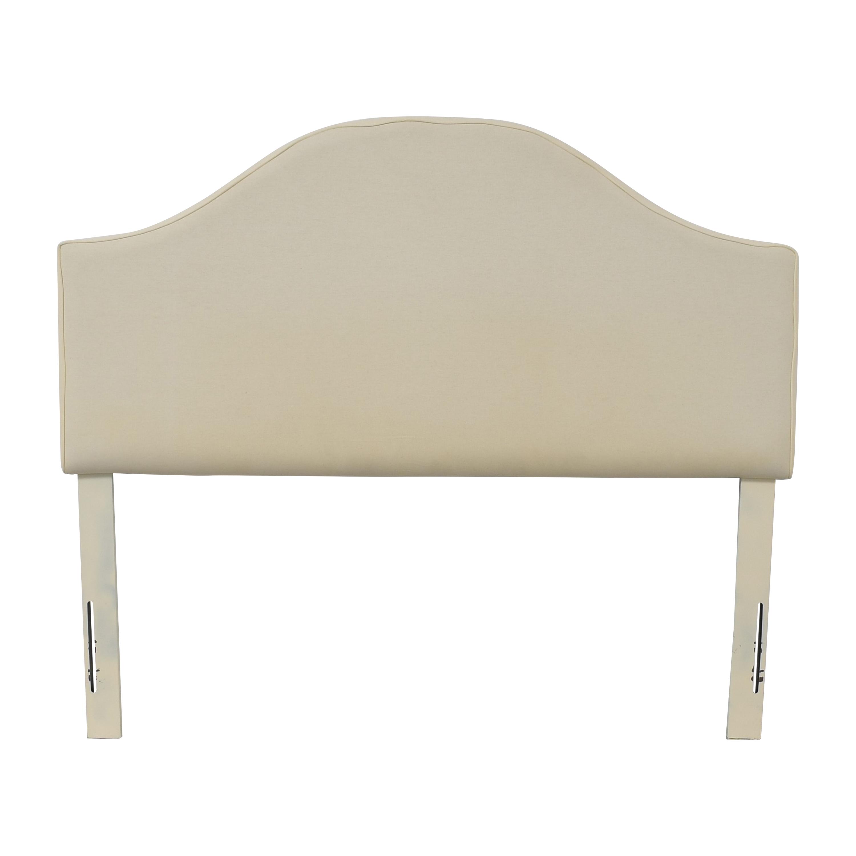 Skyline Furniture Skyline Furniture Upholstered Curved Queen Headboard nj