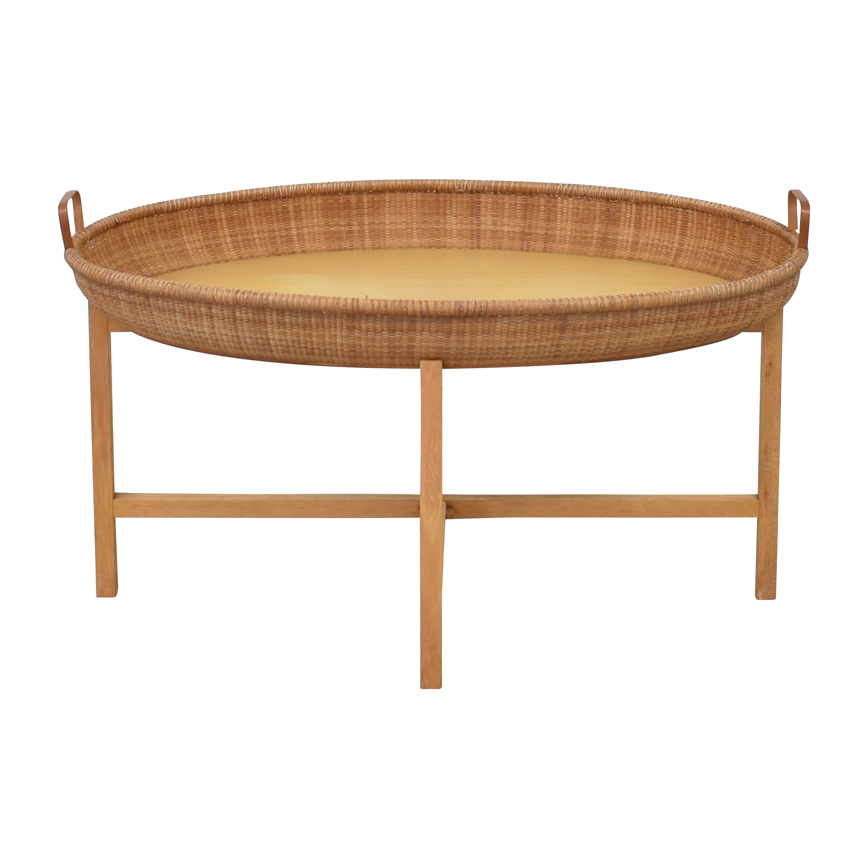 Nantucket Basket Tray Coffee Table Tables