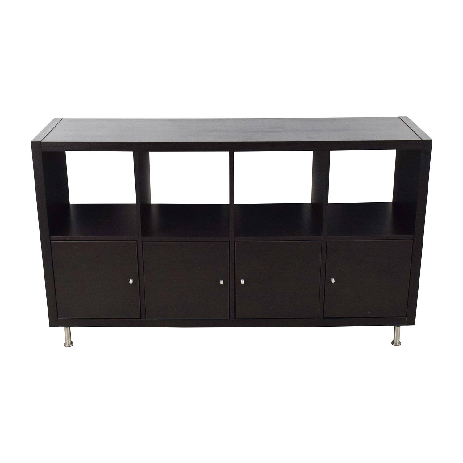 shop IKEA Kallax Black Shelf Unit IKEA Storage