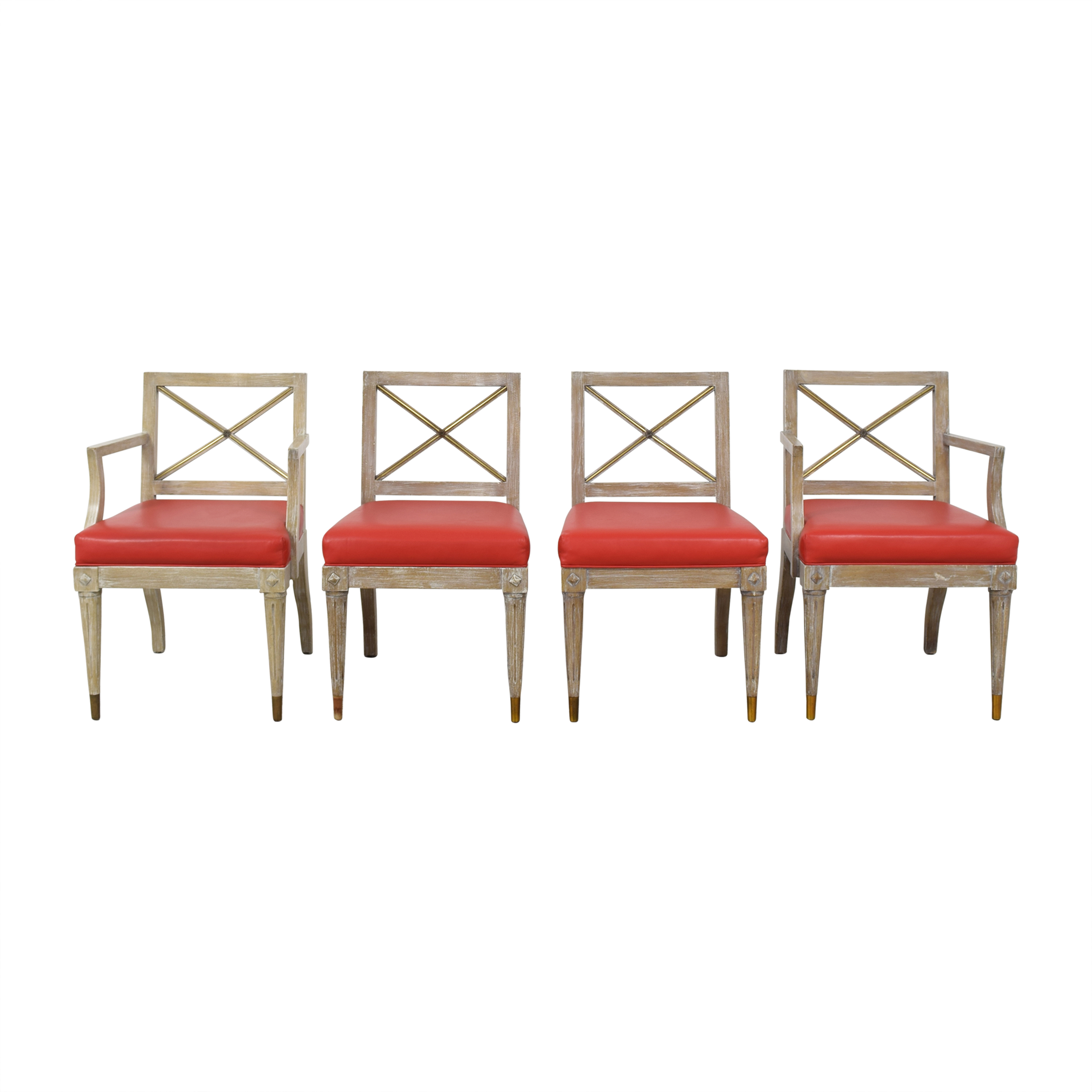 Regency Style Dining Side Chairs ct