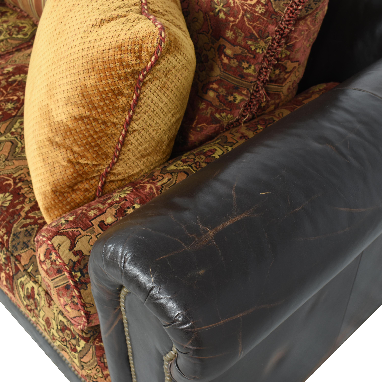 Henredon Furniture Henredon Chesterfield Nailhead Sofa