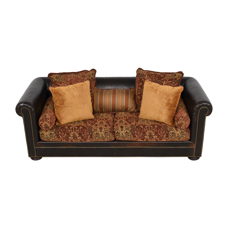 Henredon Furniture Henredon Chesterfield Nailhead Sofa nj