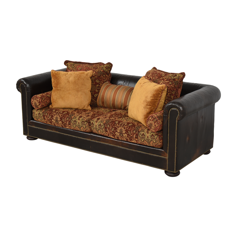 Henredon Furniture Henredon Chesterfield Nailhead Sofa on sale
