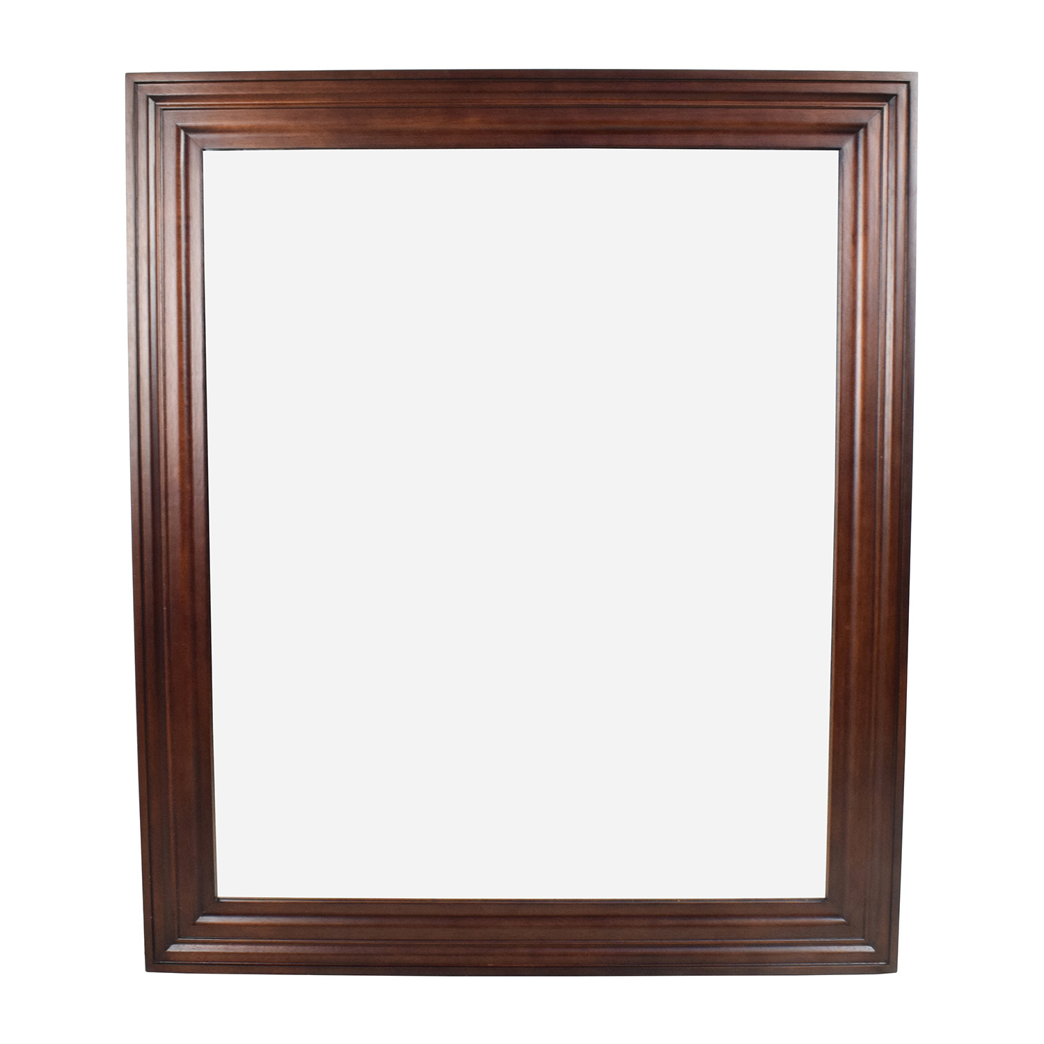 Large Wood Framed Mirror used