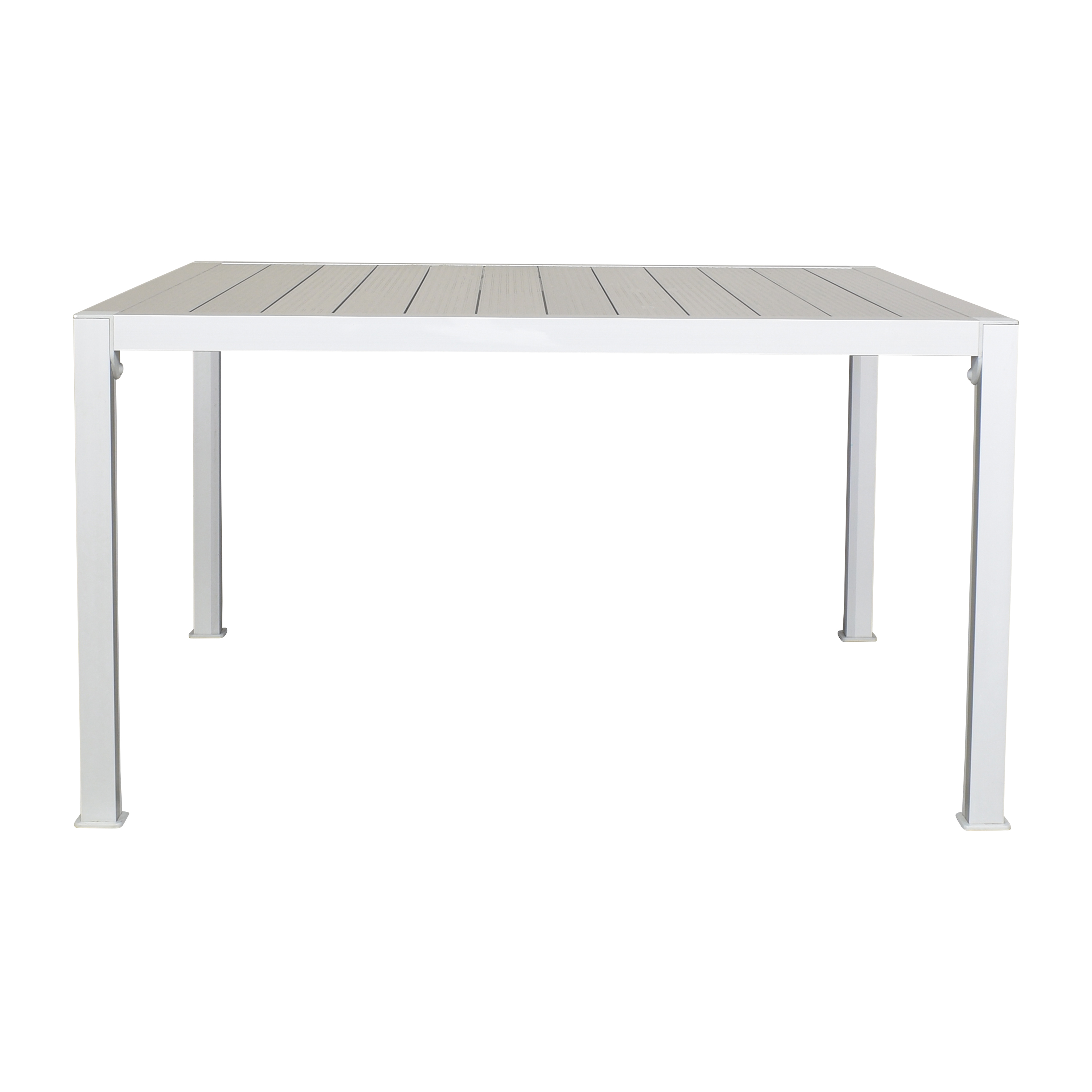 Square Industrial Dining Table on sale