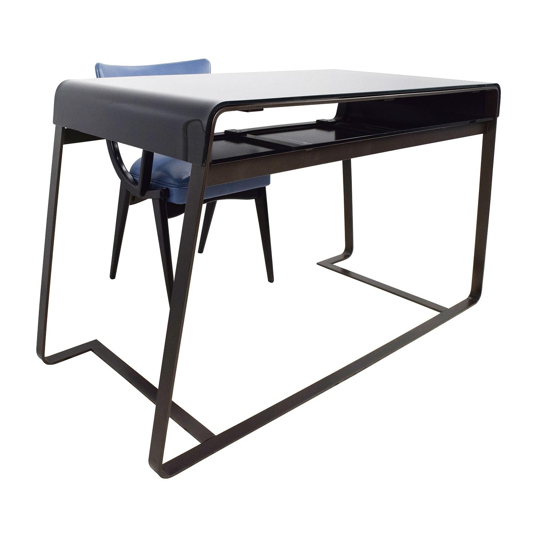 78 Off Artelano Artelano Directors Desk And Leather