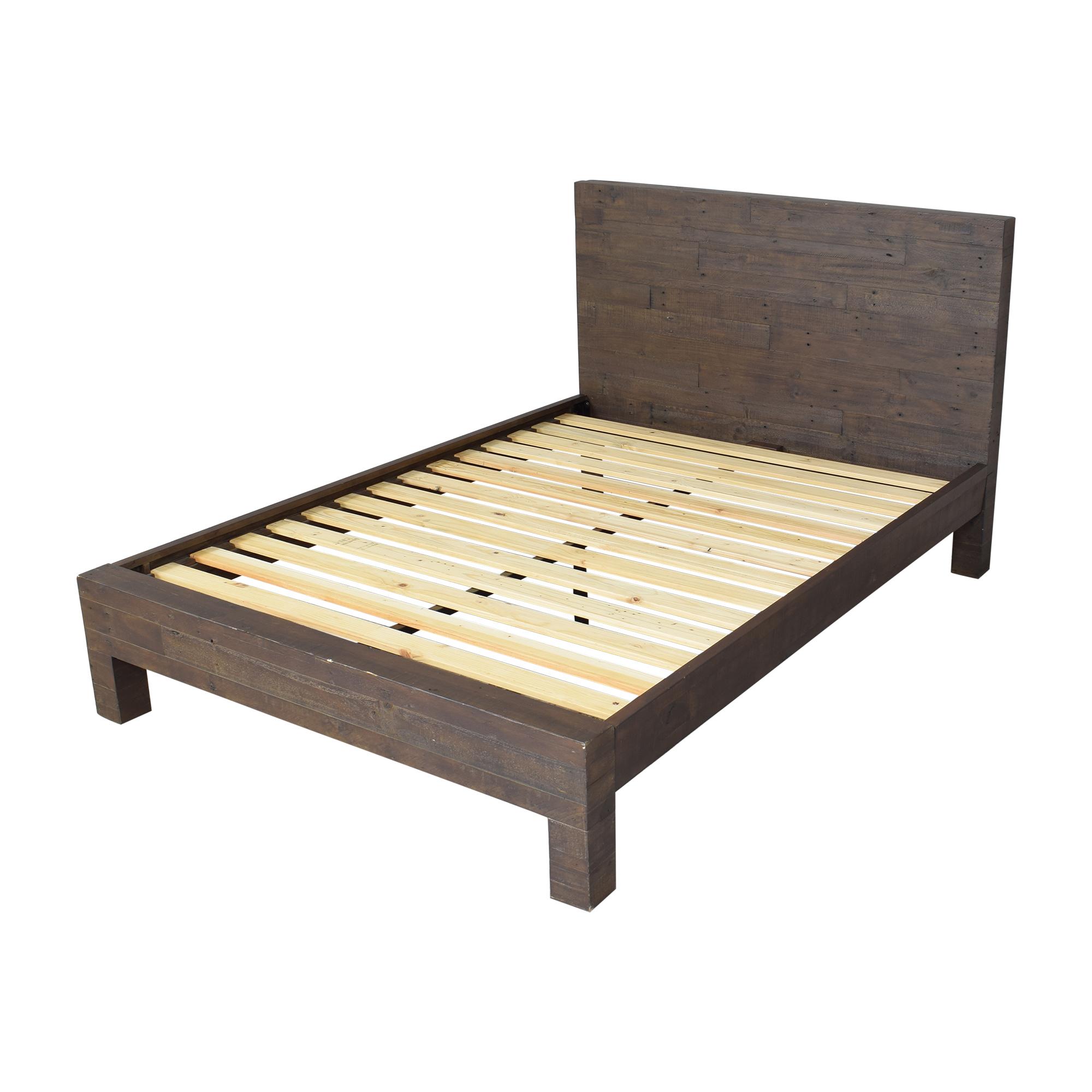 shop West Elm West Elm Emmerson Reclaimed Queen Bed online
