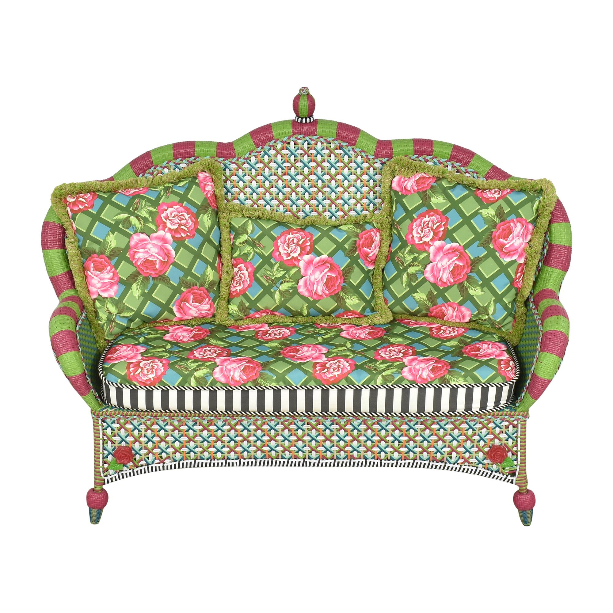 MacKenzie-Childs MacKenzie-Childs Patterned Sofa Classic Sofas