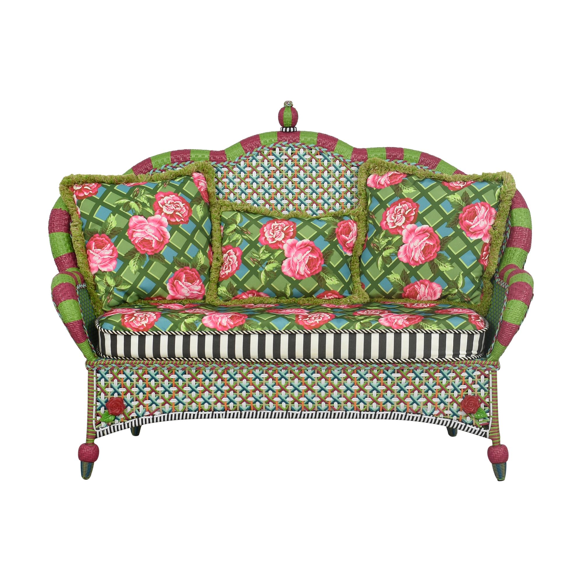 MacKenzie-Childs MacKenzie-Childs Patterned Sofa