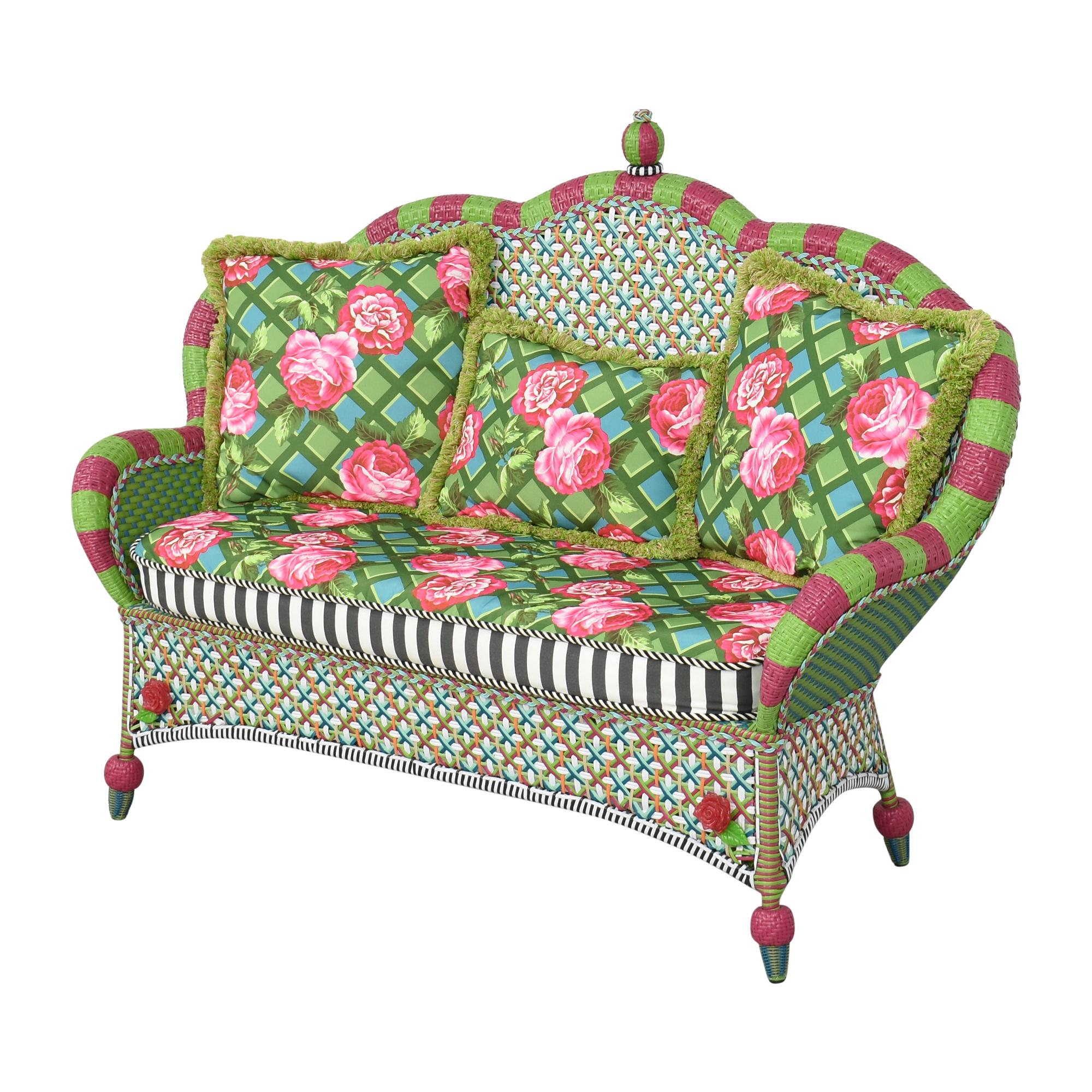MacKenzie-Childs Patterned Sofa / Classic Sofas