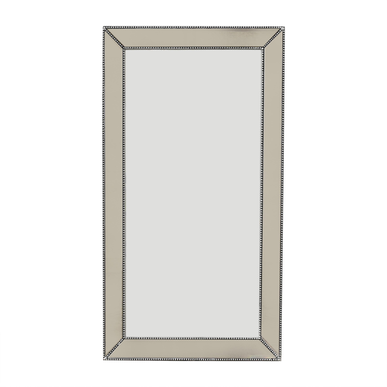 Restoration Hardware Restoration Hardware Venetian Beaded Mirror on sale
